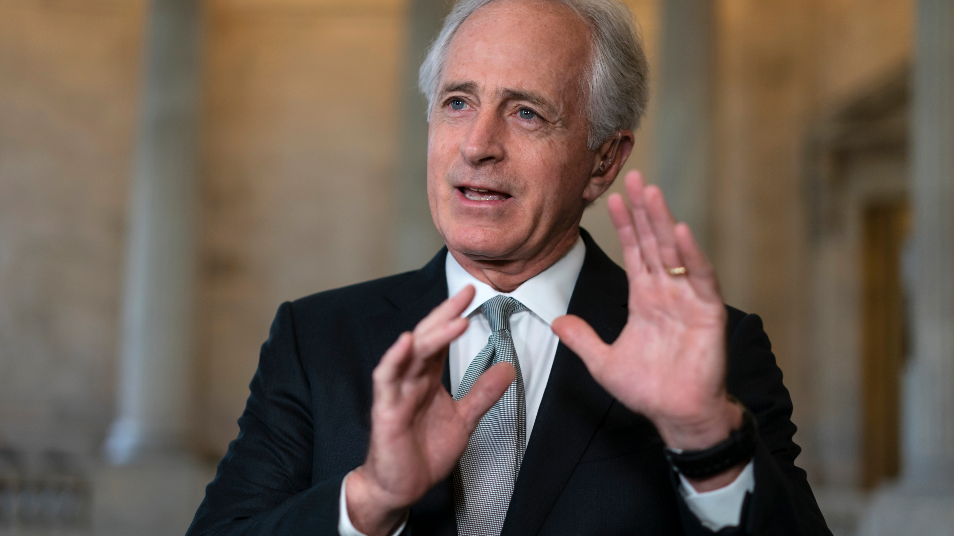 Bob Corker loses it on the Senate floor — and it's about time