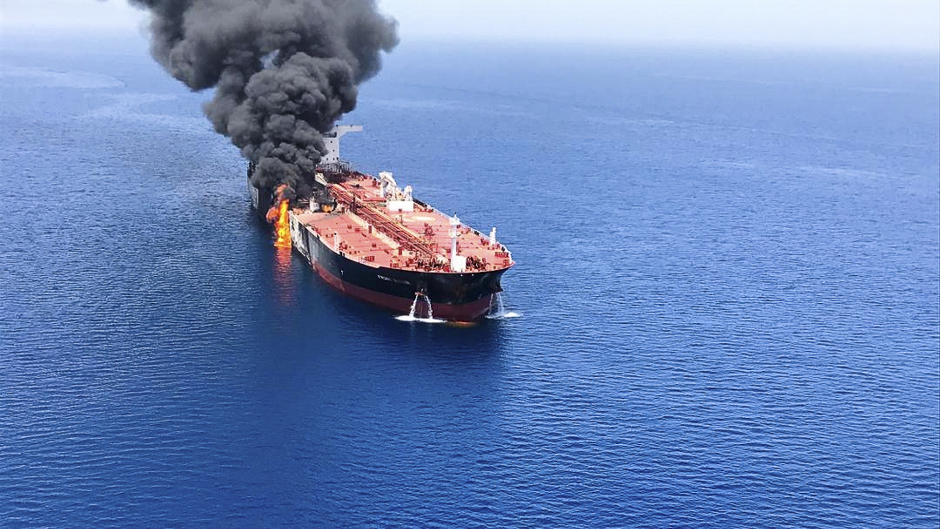 Japanese ship owner contradicts U.S. account of how tanker was attacked