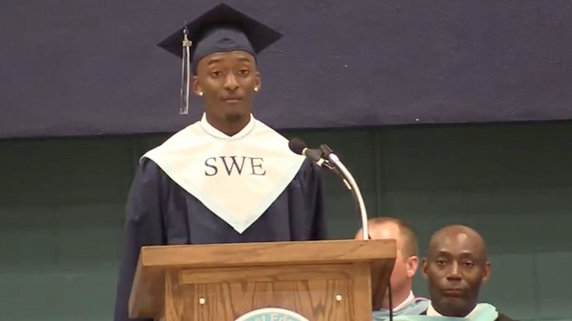 Graduating senior refused to read speech written by administrators, so they withheld his diploma