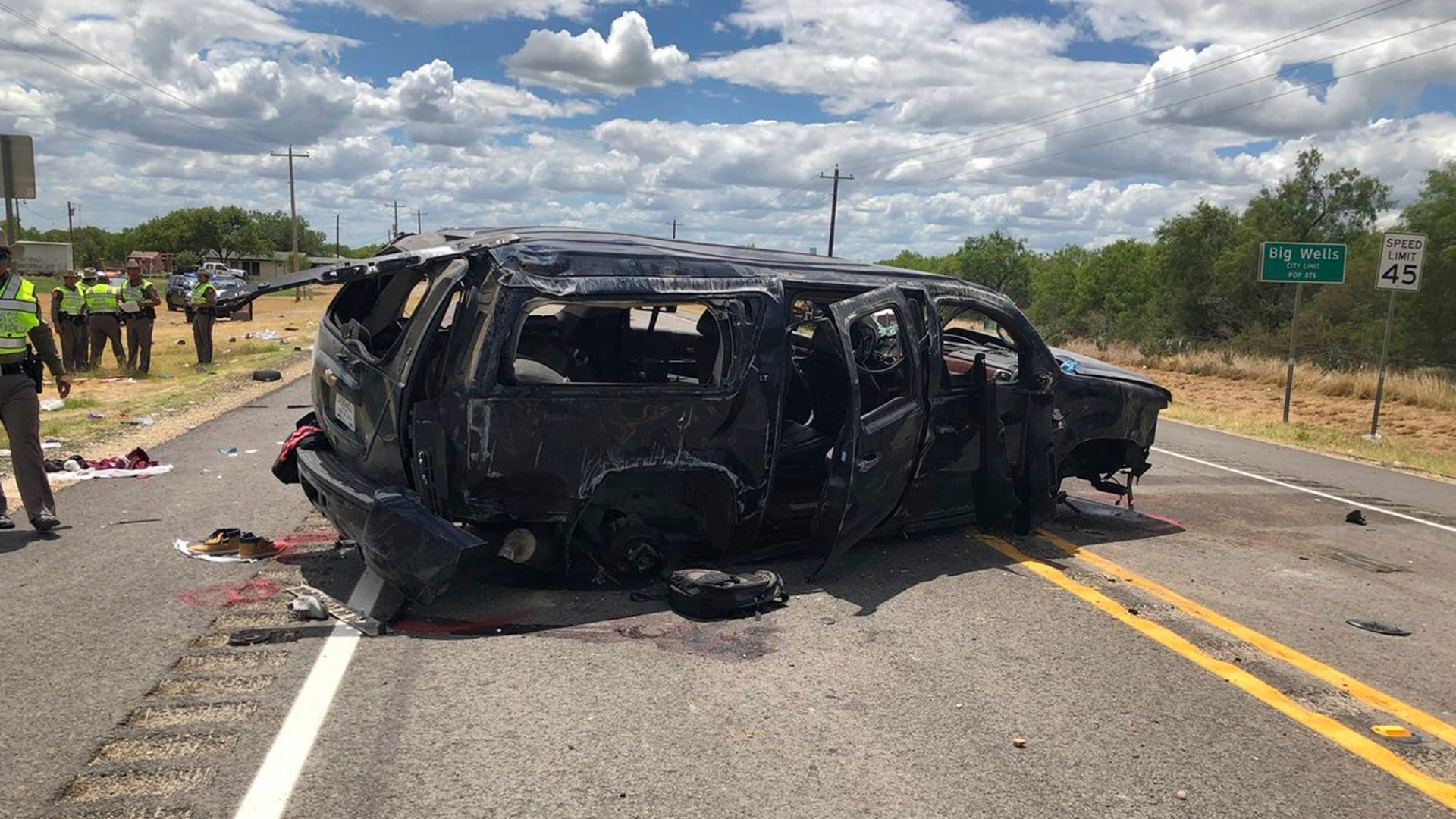 At least 5 dead in Texas after Border Patrol car chase