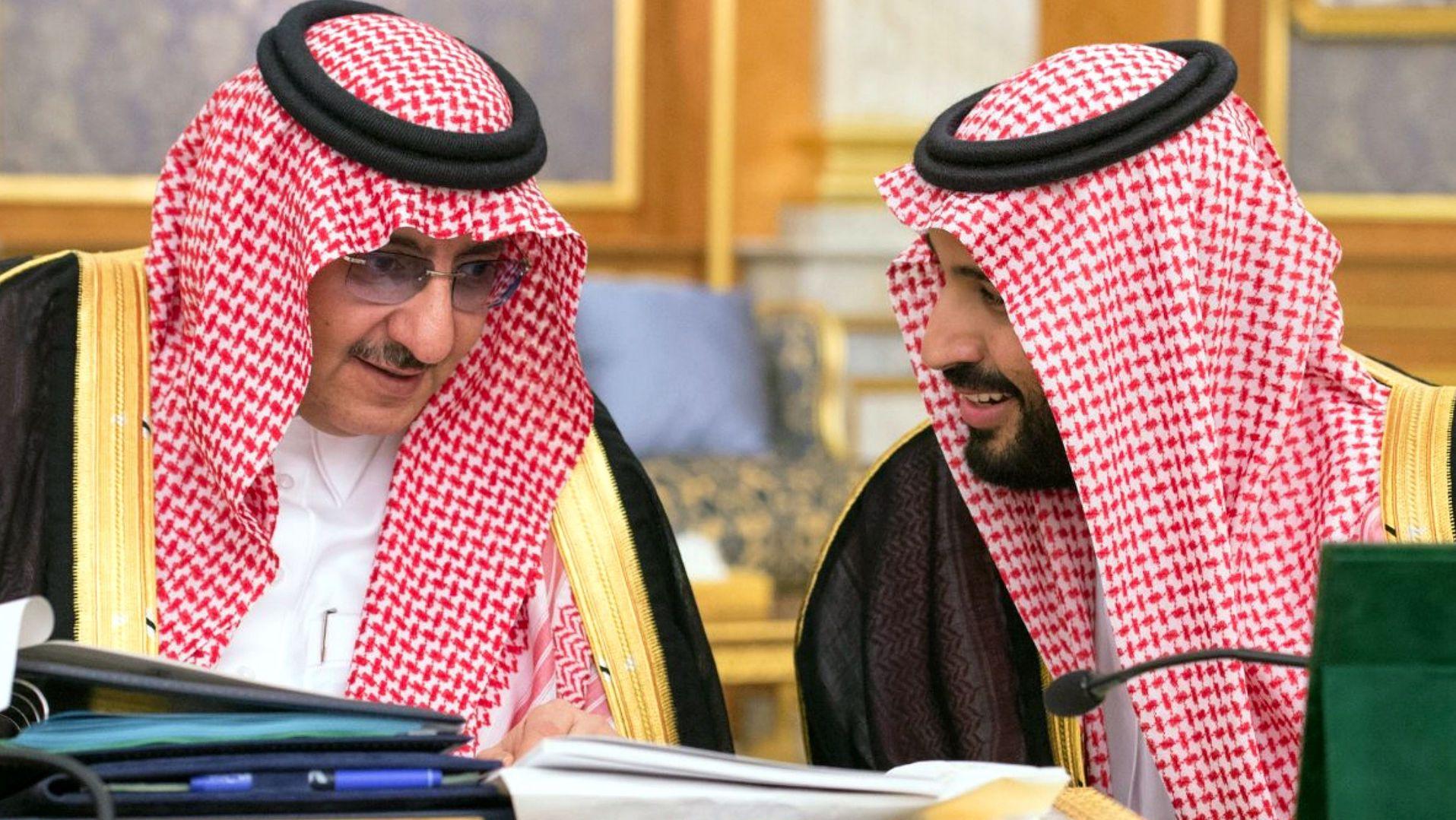 Saudi king names son as new crown prince, upending the royal succession