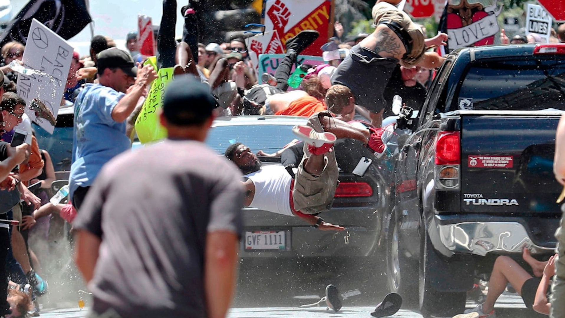 Alleged driver of car that plowed into Charlottesville crowd was a Nazi sympathizer, former teacher says