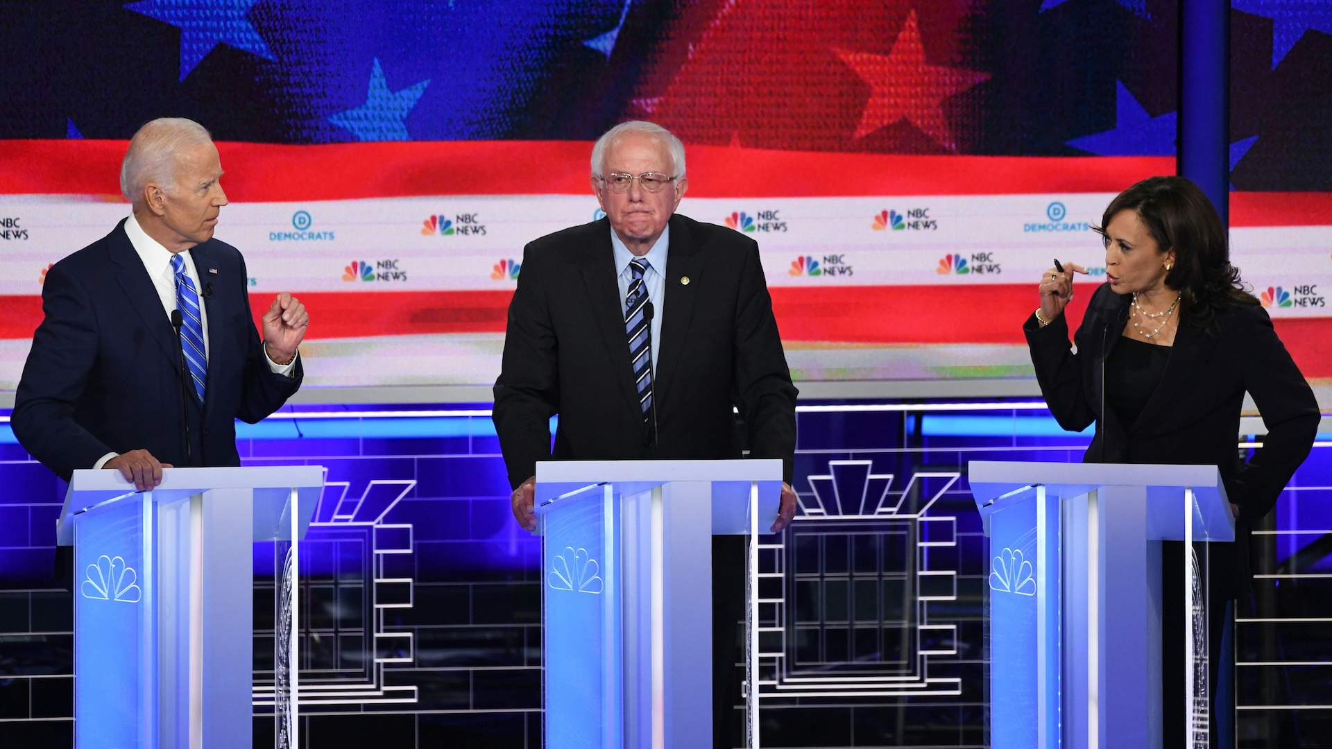 Democrats clash on race, age and ideology at second night of June 2019  primary debate