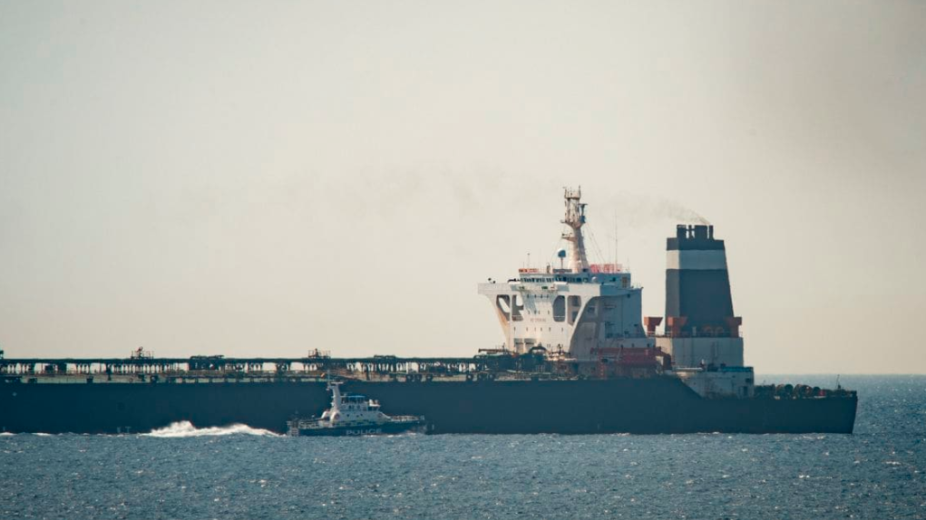 British marines seize tanker suspected of carrying Iranian oil bound for Syria