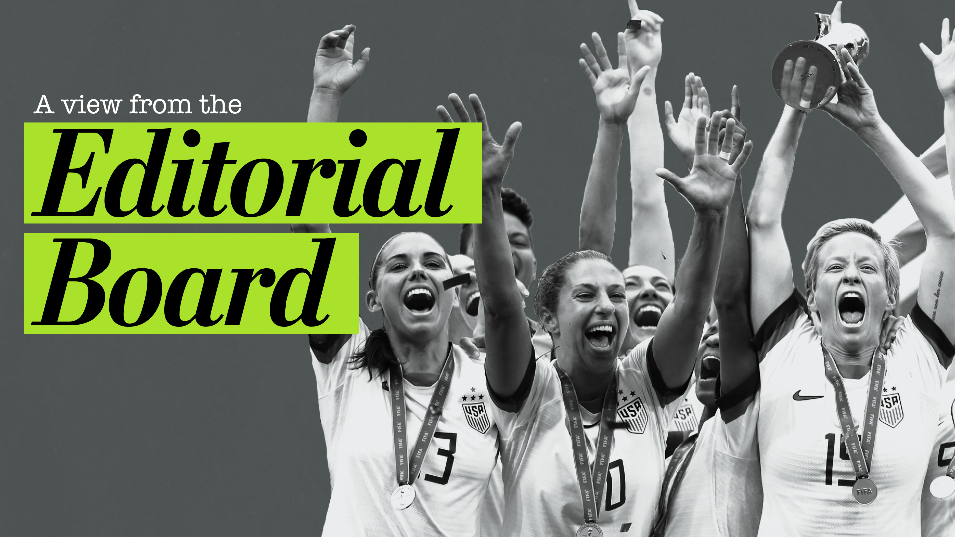 The U.S. women's soccer team has more than earned equal pay