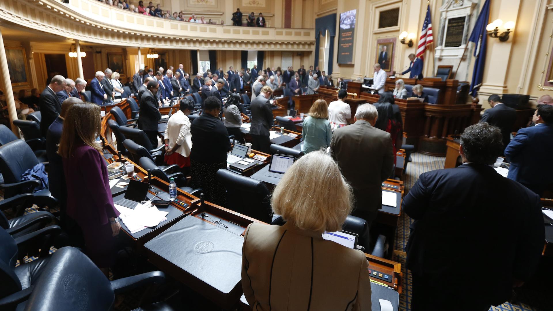 Gun debate ends abruptly in Virginia as GOP-controlled legislature adjourns after 90 minutes