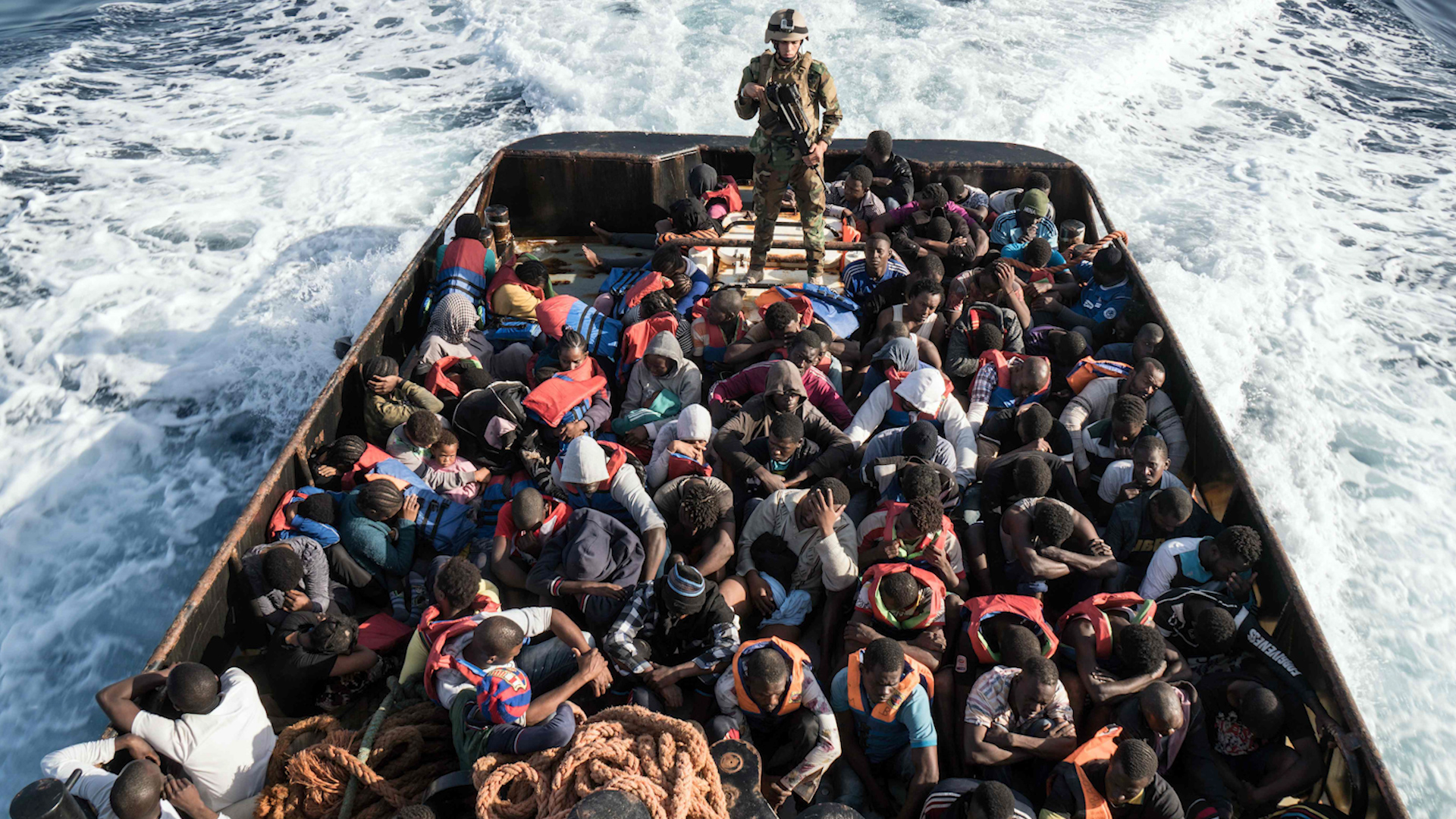 Libya's coast guard abuses migrants despite E.U. funding and training