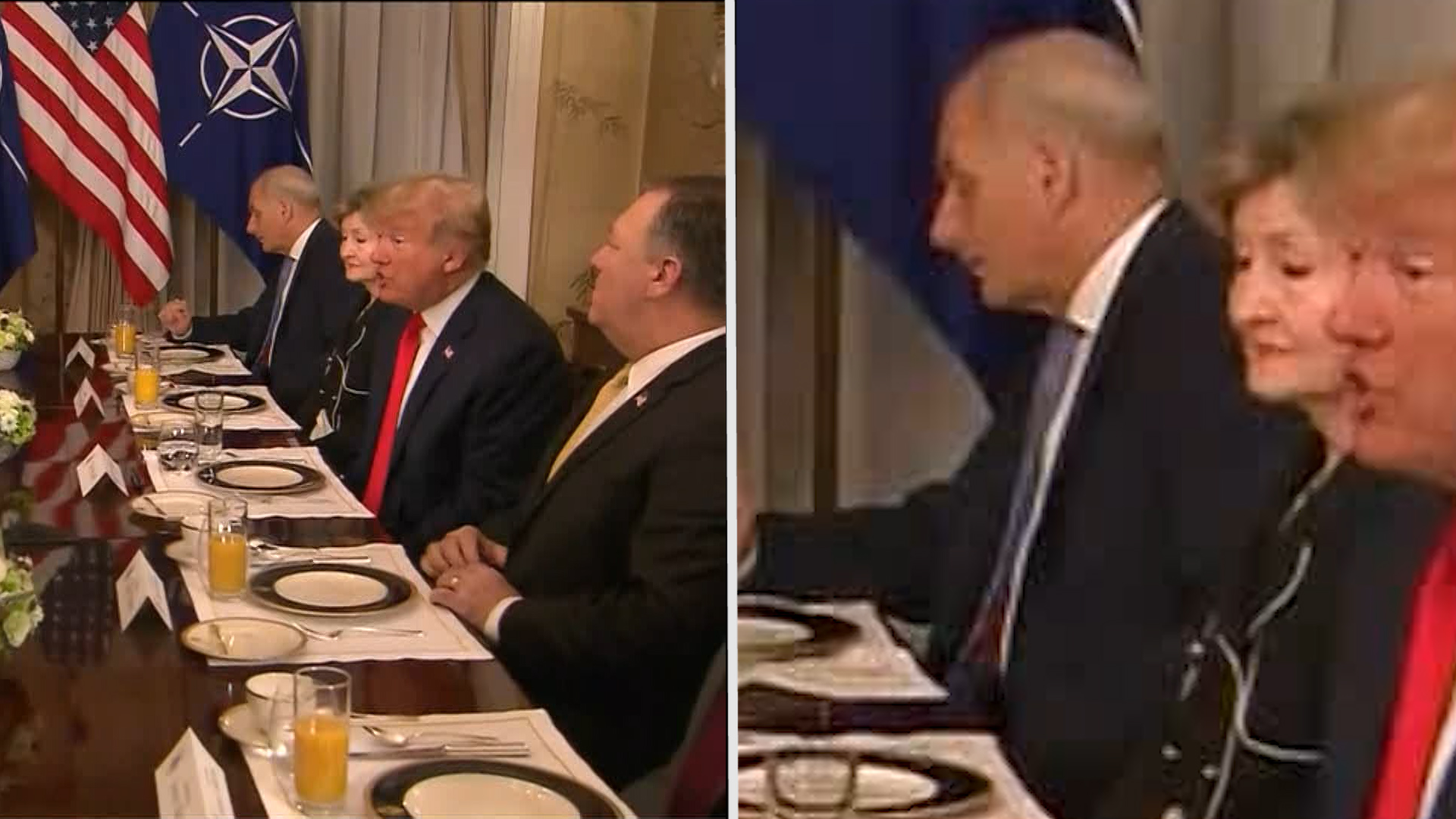 It was the cheese that let John Kelly down