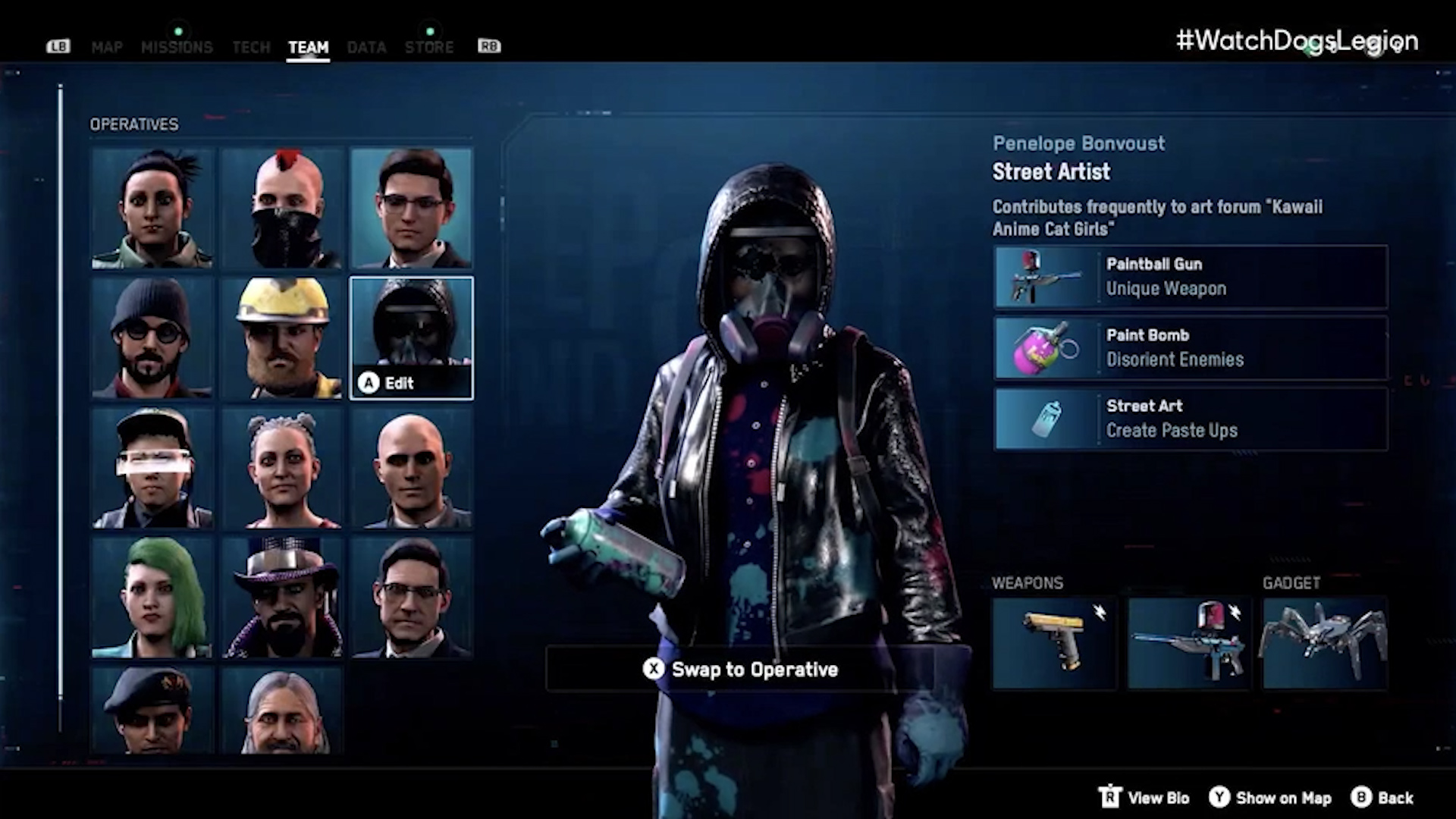 New 'Watch Dogs: Legion' gameplay - The Washington Post