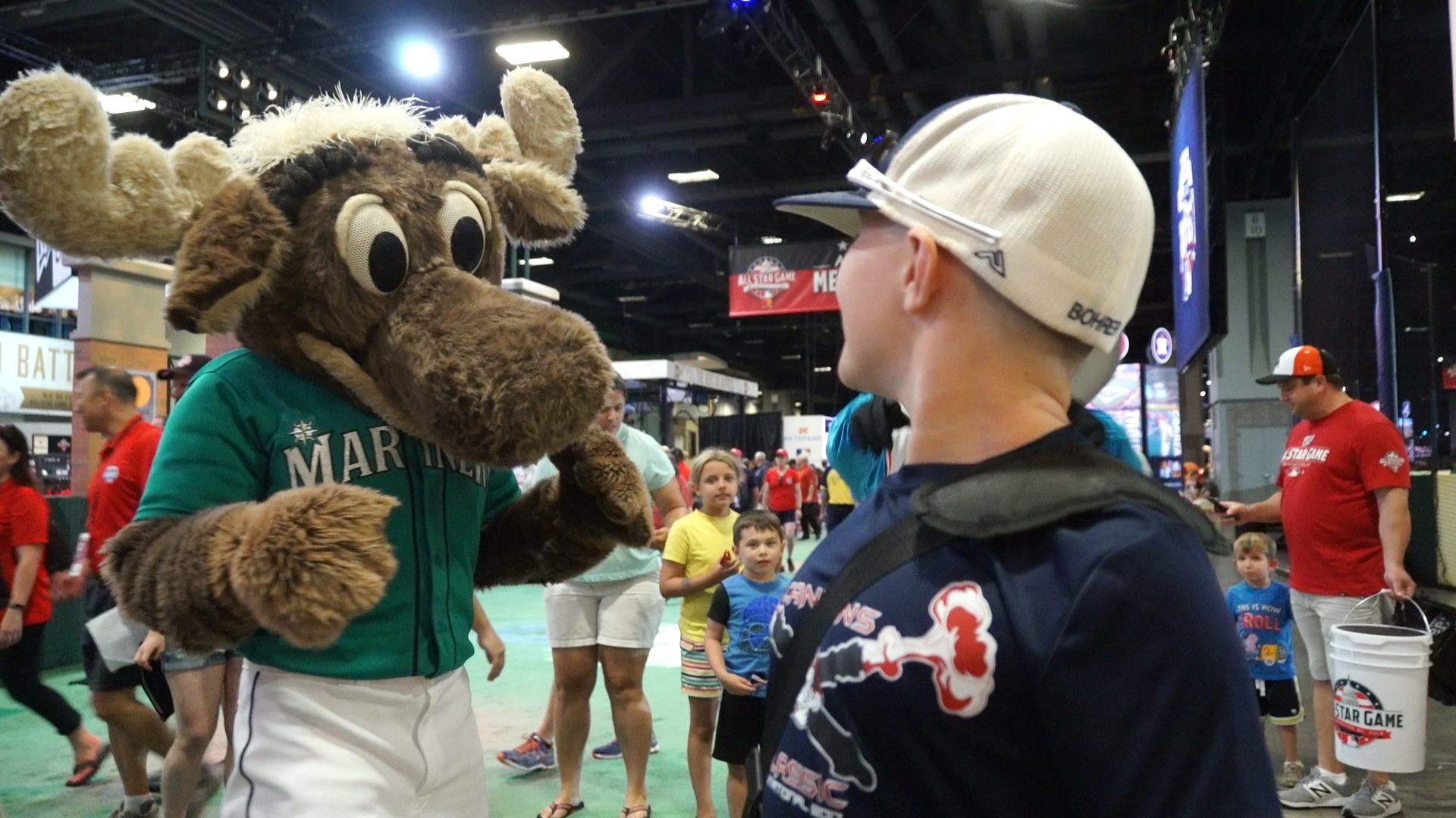 Fans Fired Up For Mlb All Star Weekend The Washington Post