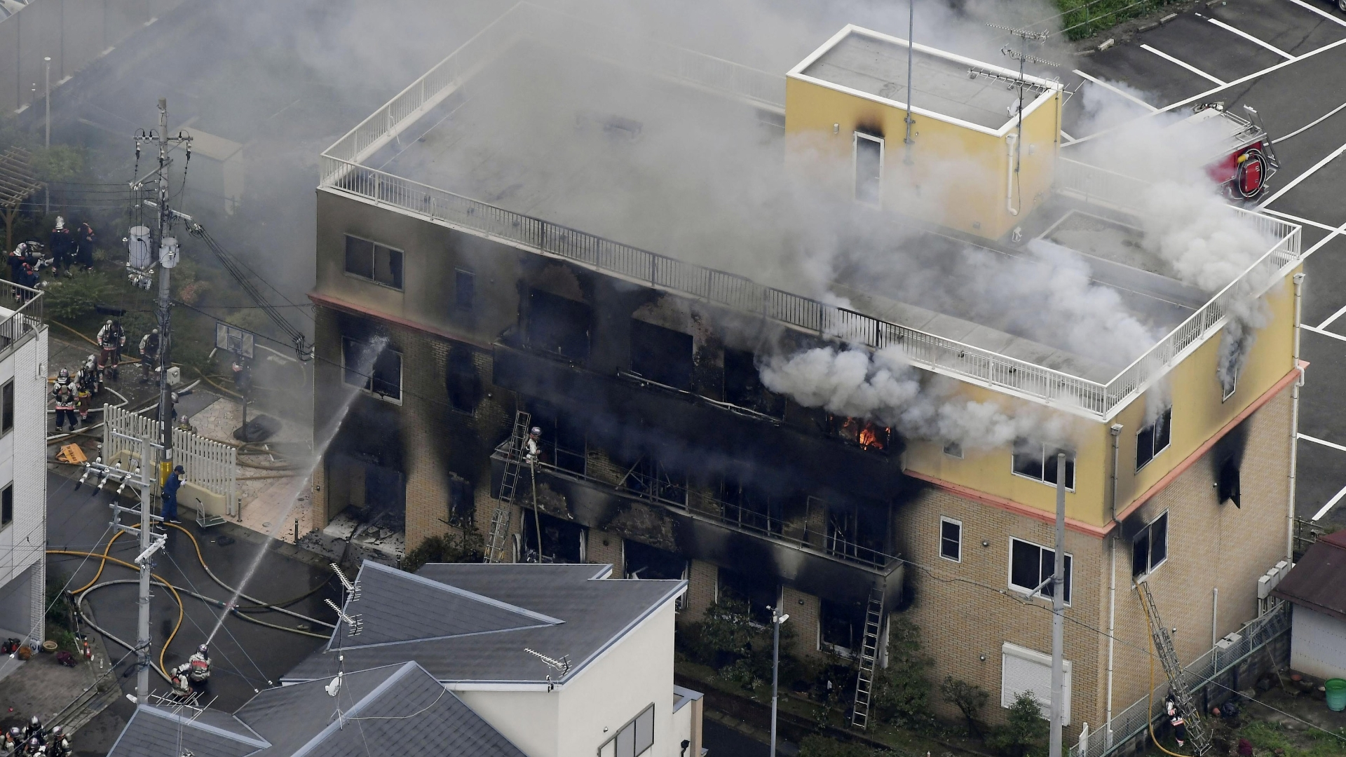 'Die!': Alleged arsonist turned a celebrated Japanese anime studio into a death trap