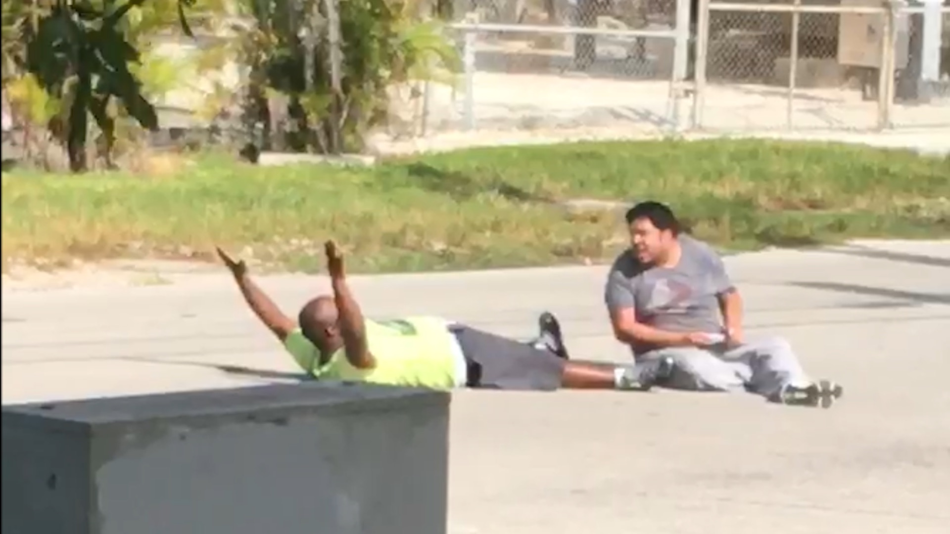 North Miami police shoot black man who said his hands were raised while he tried to help autistic group-home resident