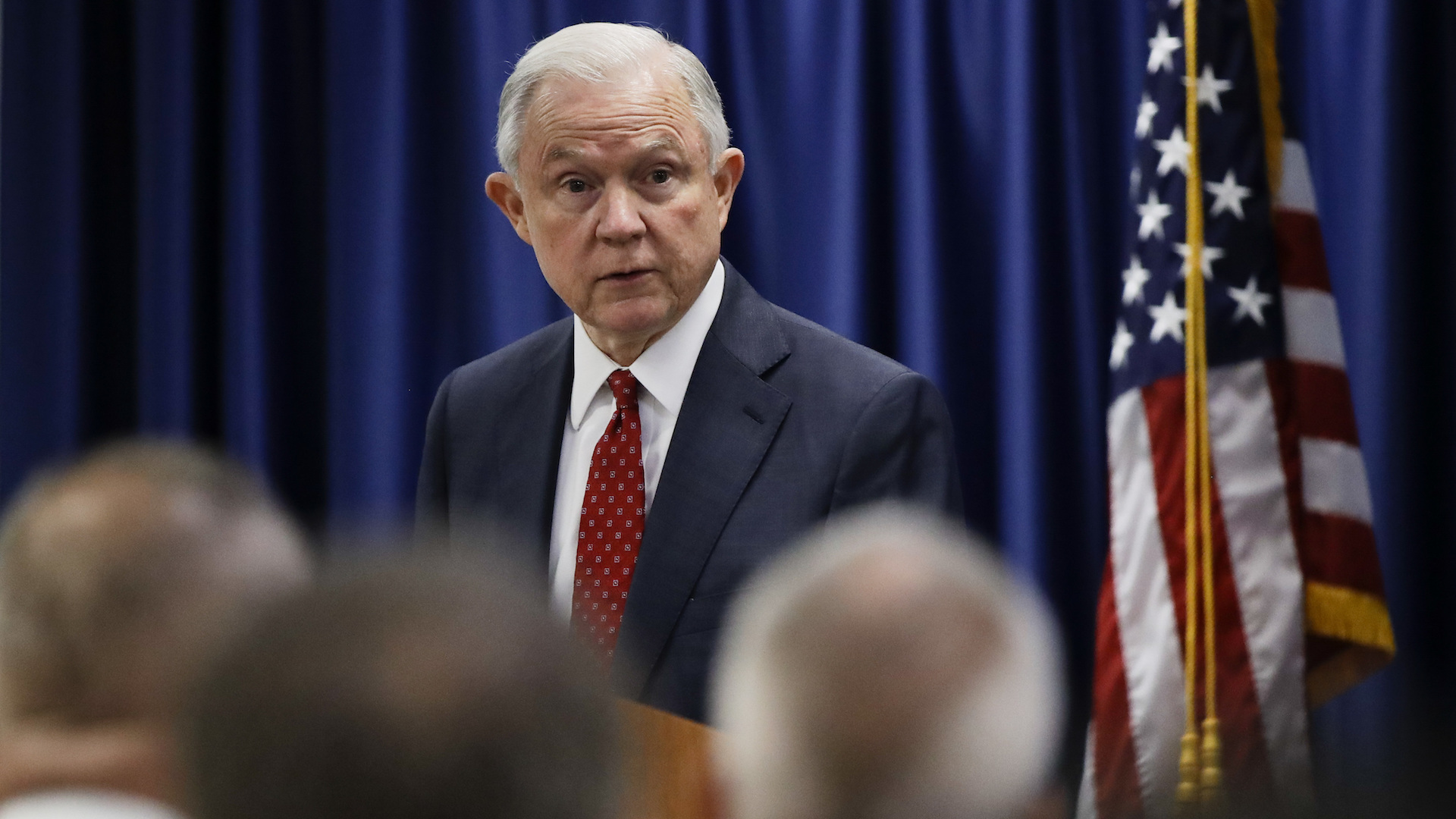 Sessions discussed Trump campaign-related matters with Russian ambassador, U.S. intelligence intercepts show