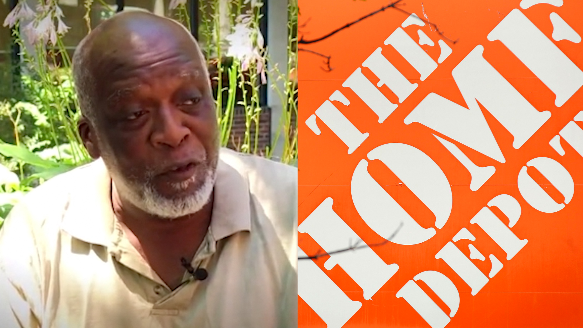 Home Depot fired him after he spoke to a 'racist' customer. Then he told the media about it.