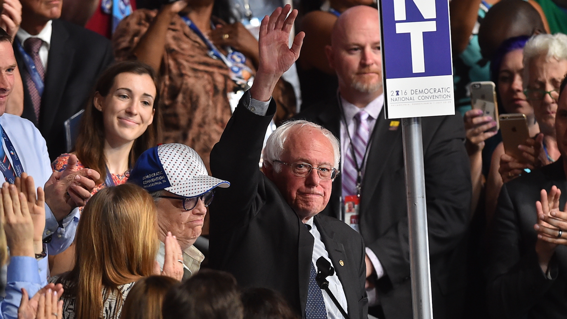 Sanders plans for a possible power move in the Senate