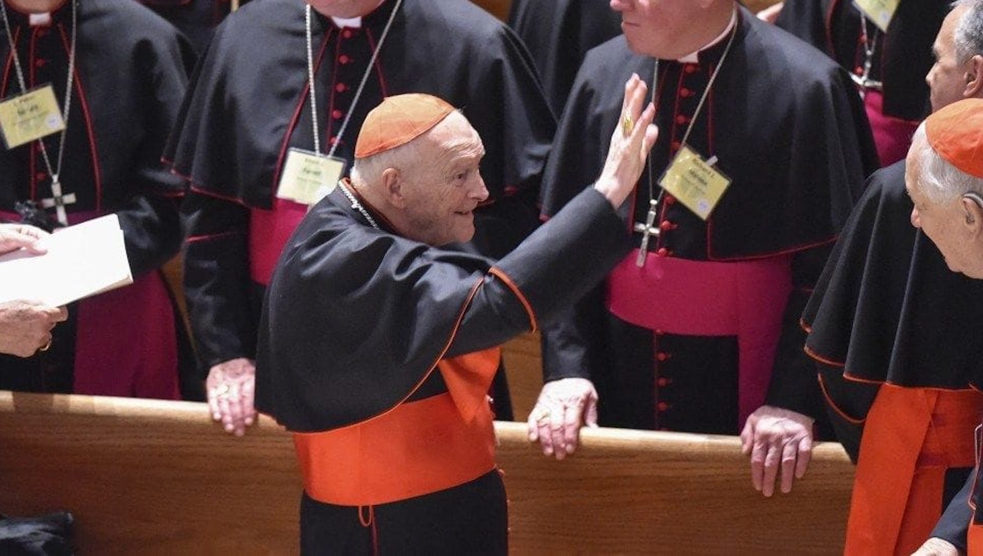 Former Vatican ambassador says Popes Francis, Benedict knew of sexual misconduct allegations against McCarrick for years