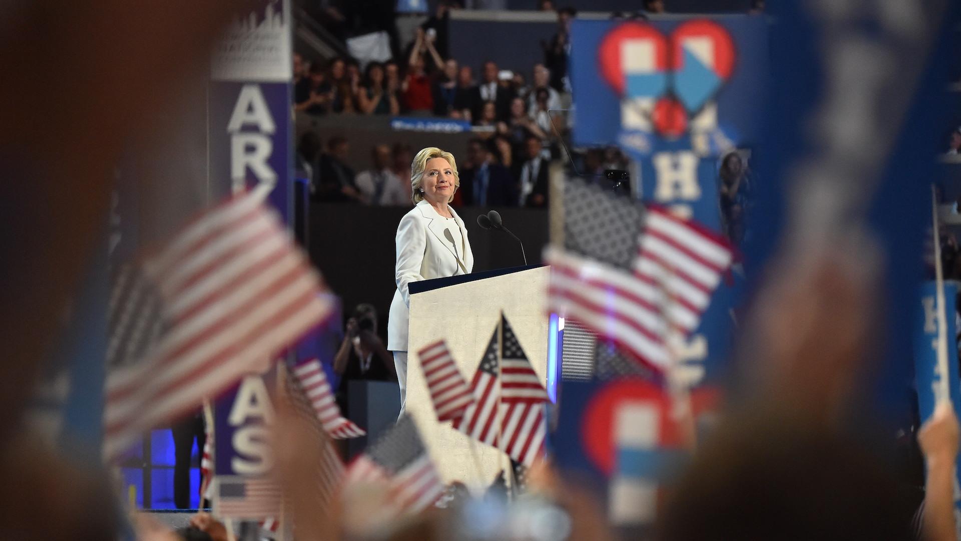 Fact-checking Hillary Clinton's acceptance speech at the 2016 DNC