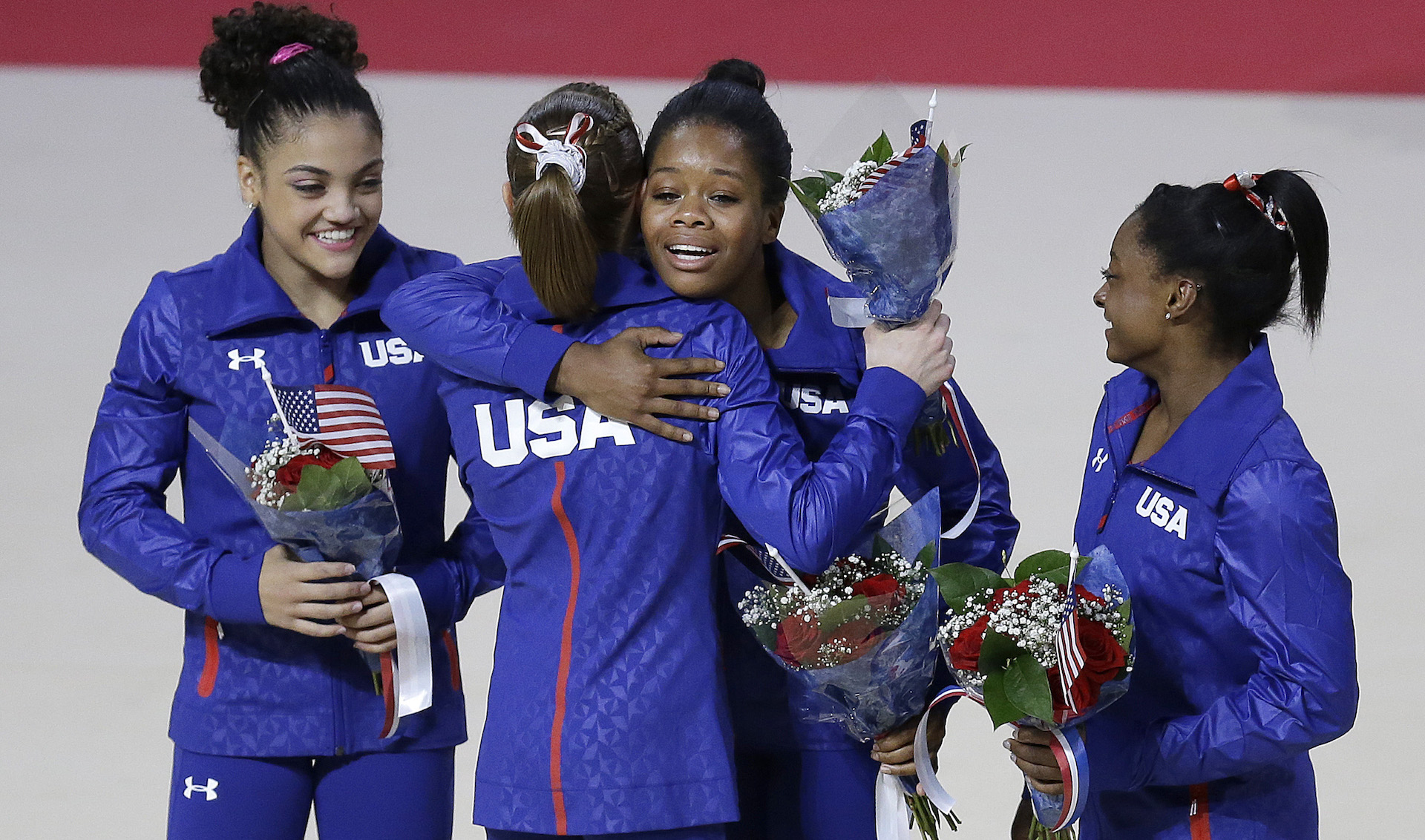 Simone Biles's inevitable greatness is verified with a dazzling all-around gold