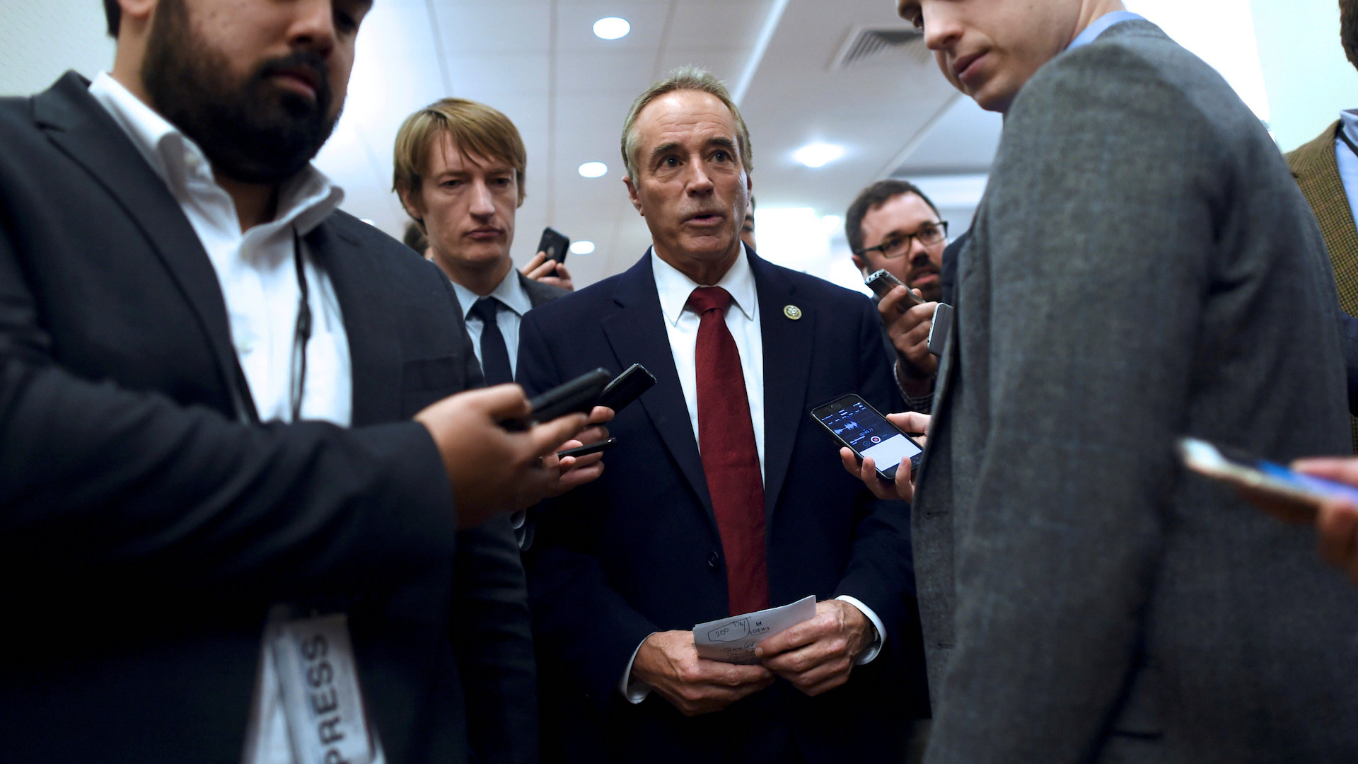 Rep. Chris Collins charged with insider trading, federal prosecutors announce