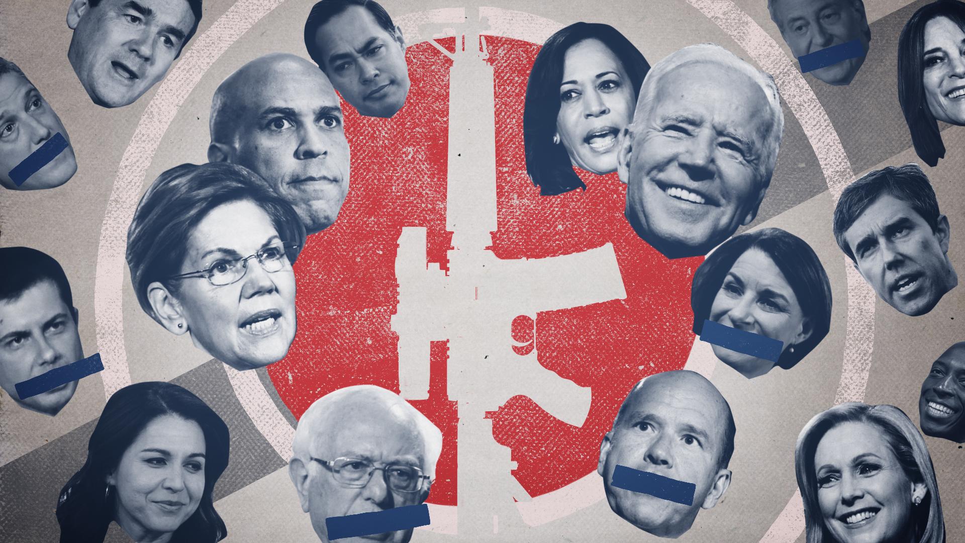 Where 2020 Democrats stand on guns