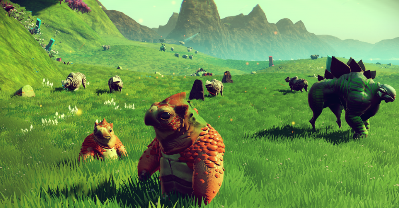 'No Man's Sky' is so huge — and popular — players found 10 million virtual species in one night