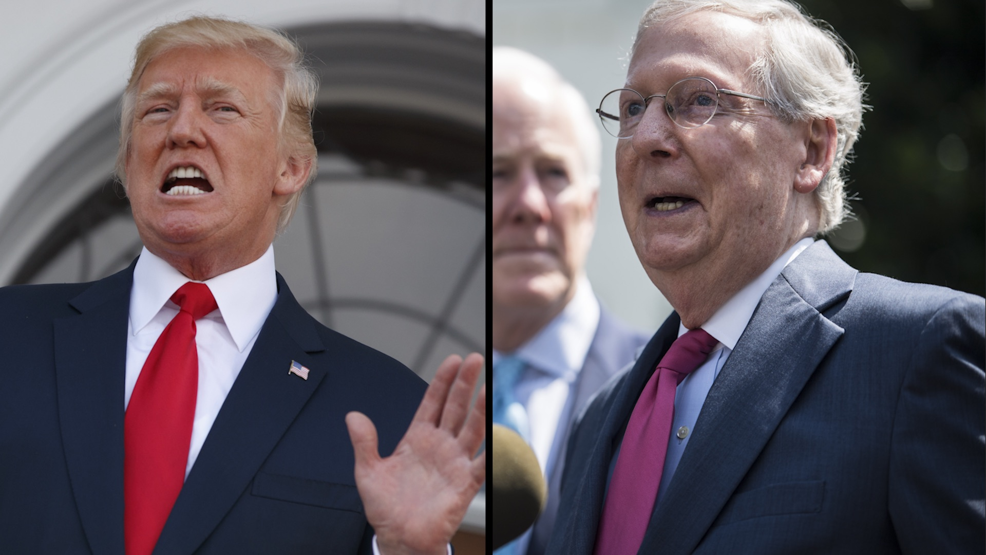 Trump attacks on McConnell bring rebukes from fellow Republicans