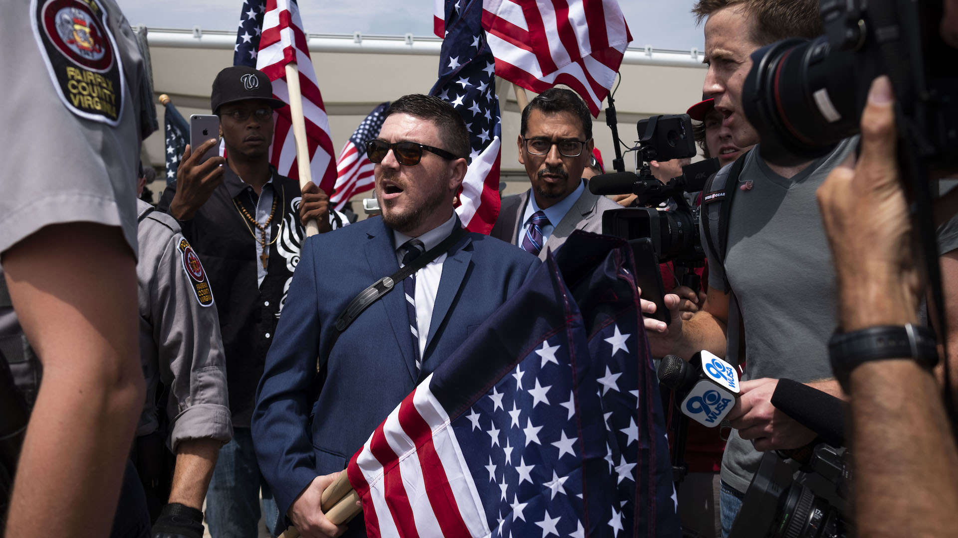 Jason Kessler's anti-Jewish screed was interrupted by his father: 'Hey, you get out of my room'