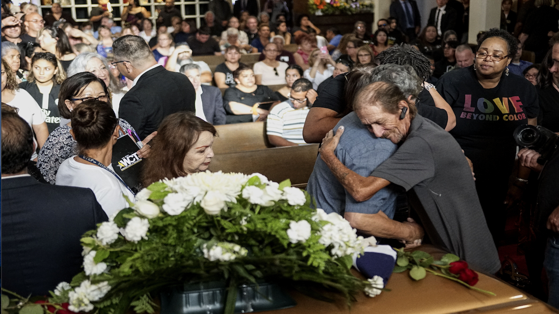 'Here in El Paso, we're just a family': City turns out for widower of Walmart massacre victim