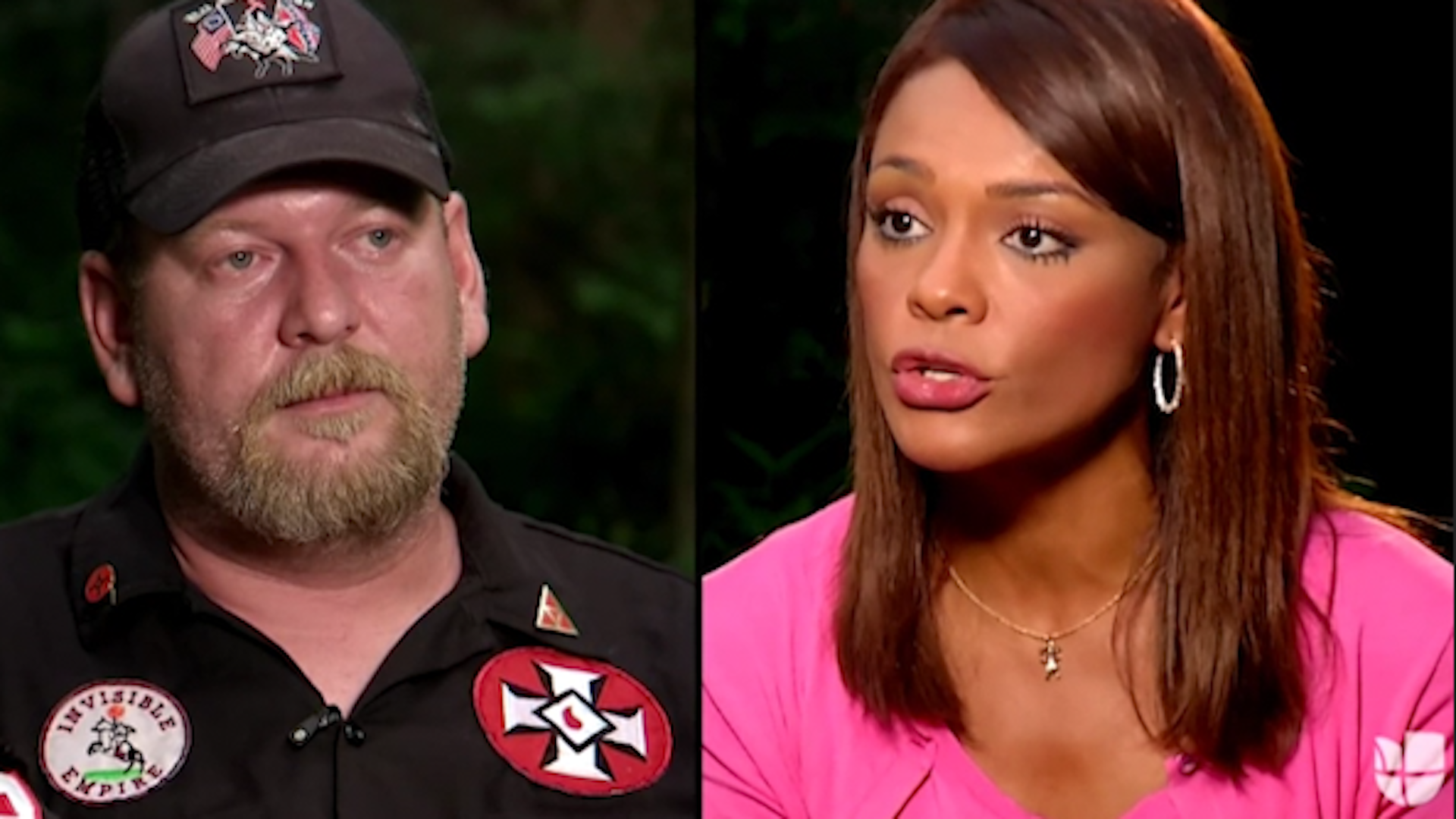 KKK leader threatens to 'burn' Latina journalist, the first black person on his property