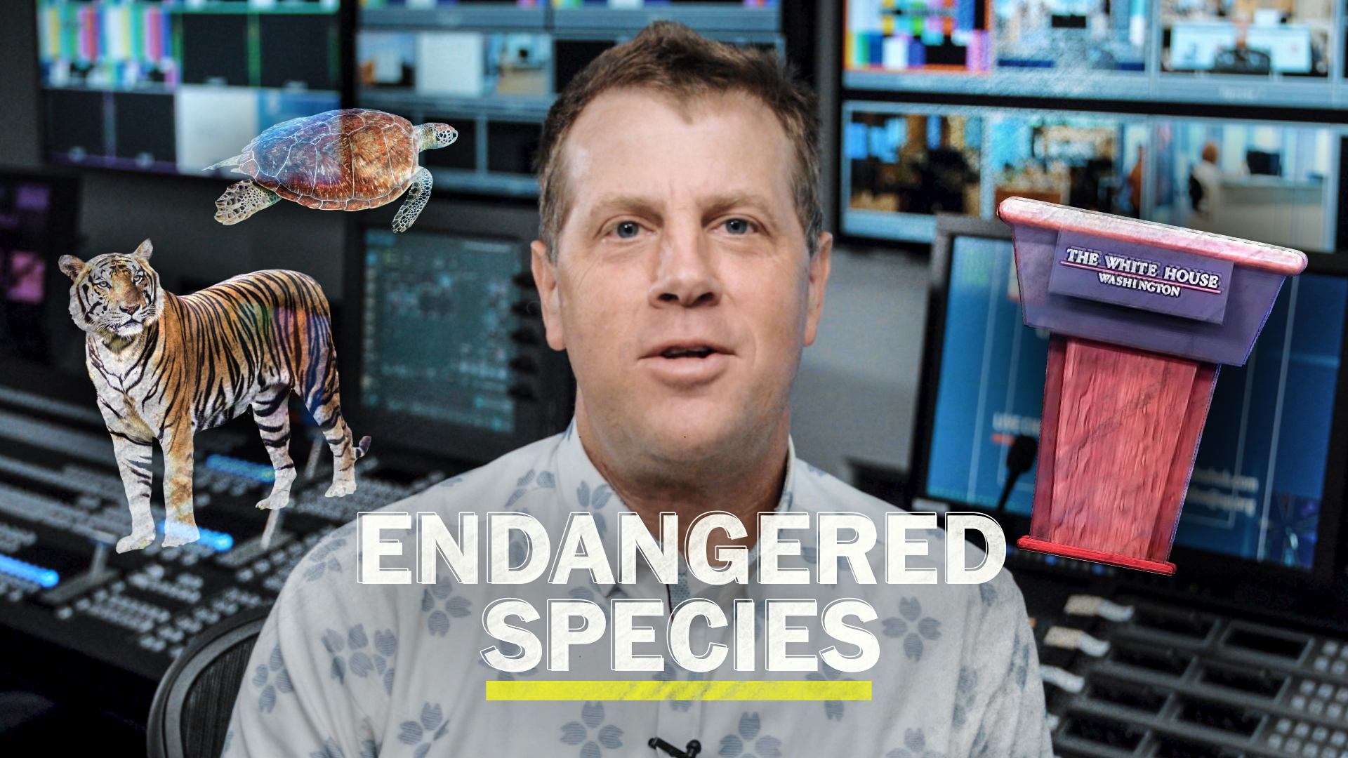 Put the White House press briefing on the endangered species list