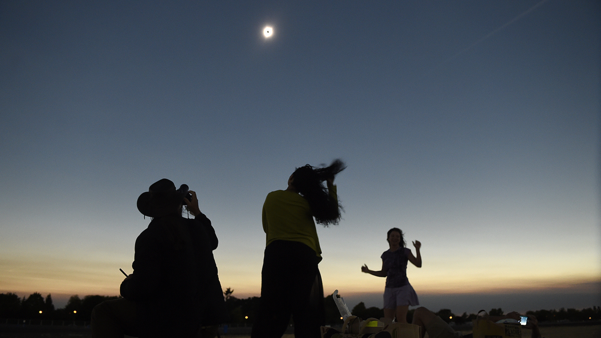 'We are all just mind-boggled:' scenes from the total solar eclipse of 2017