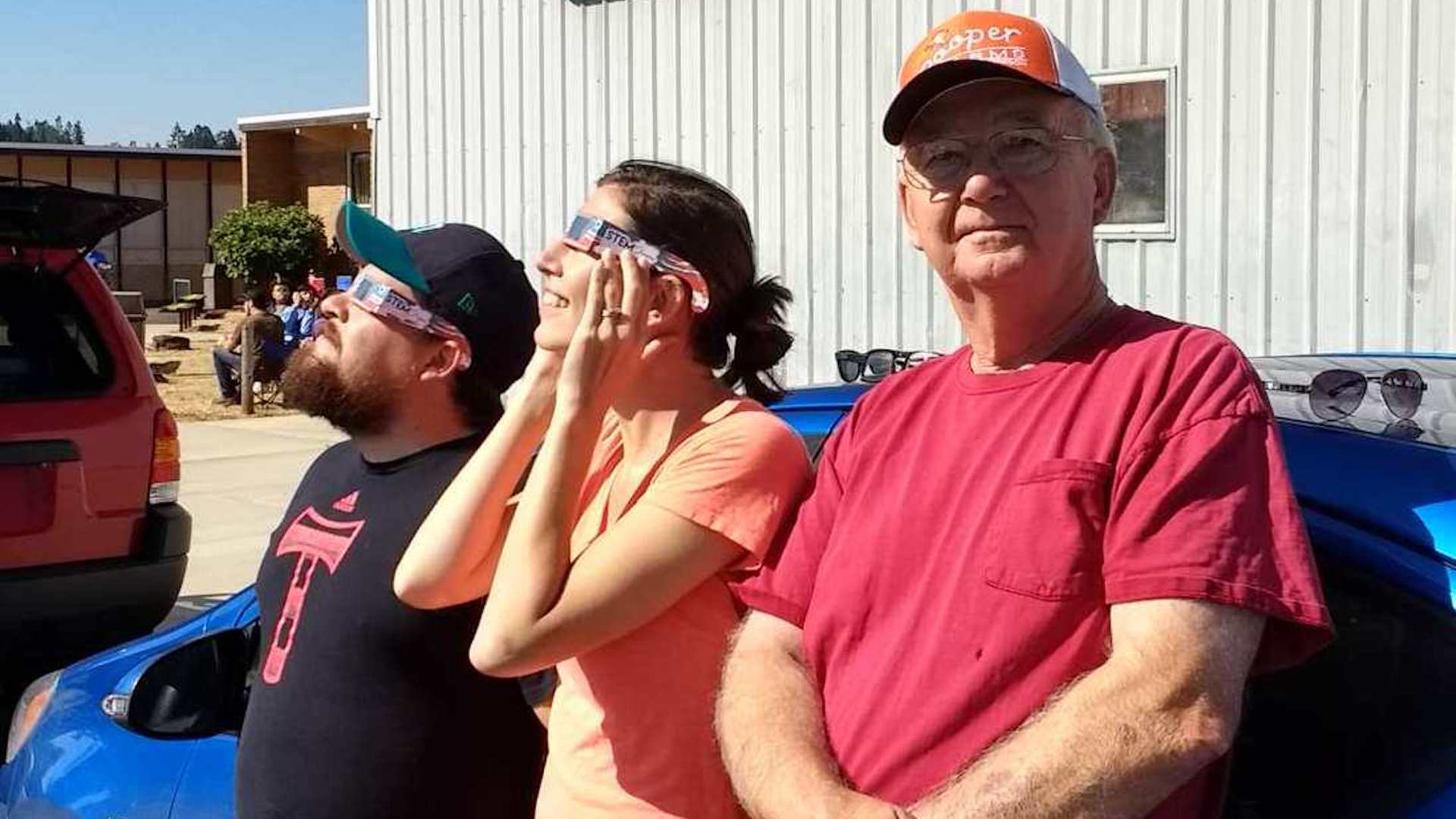 '20 seconds of burning': Friends partly blinded after watching solar eclipse warn of dangers