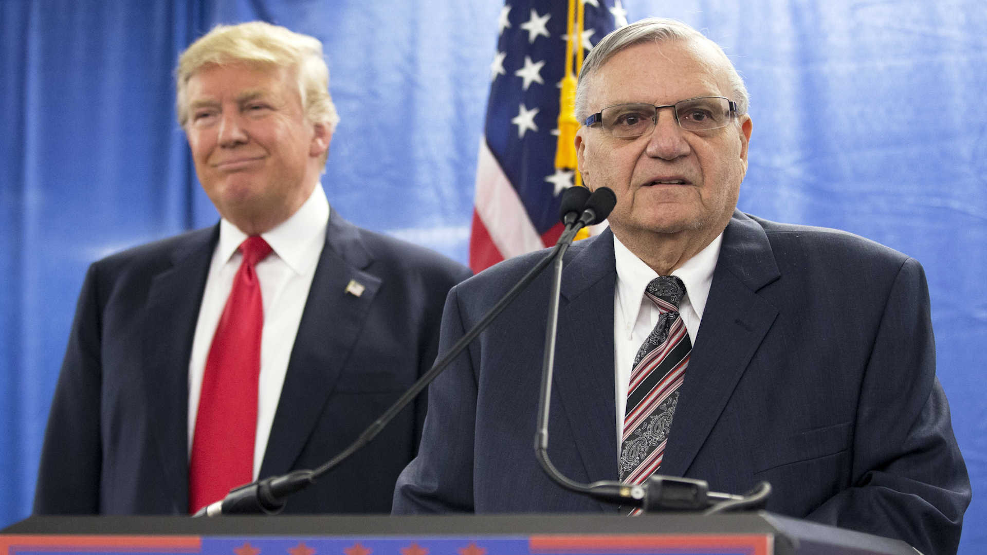 Trump asked Sessions about closing case against Arpaio, an ally since 'birtherism'