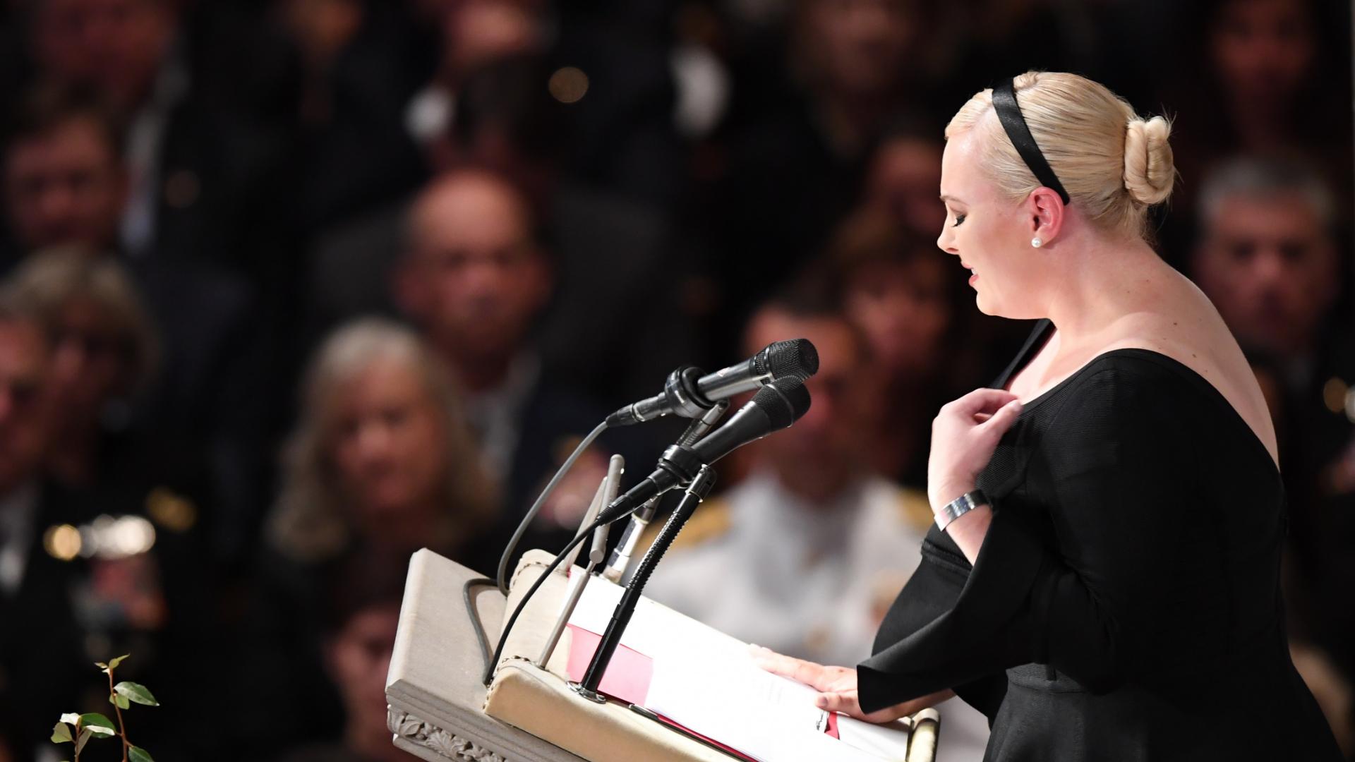 A 'pathetic life': Meghan McCain escalates her pushback against Trump