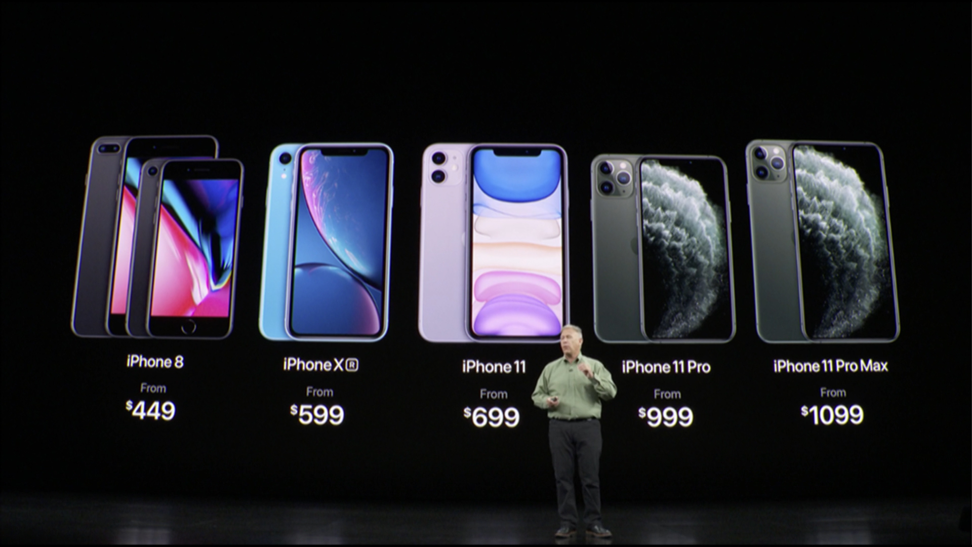 Apple launches new devices iPhone 11, Pro, iPad, Apple Watch, and services such as Apple TV+