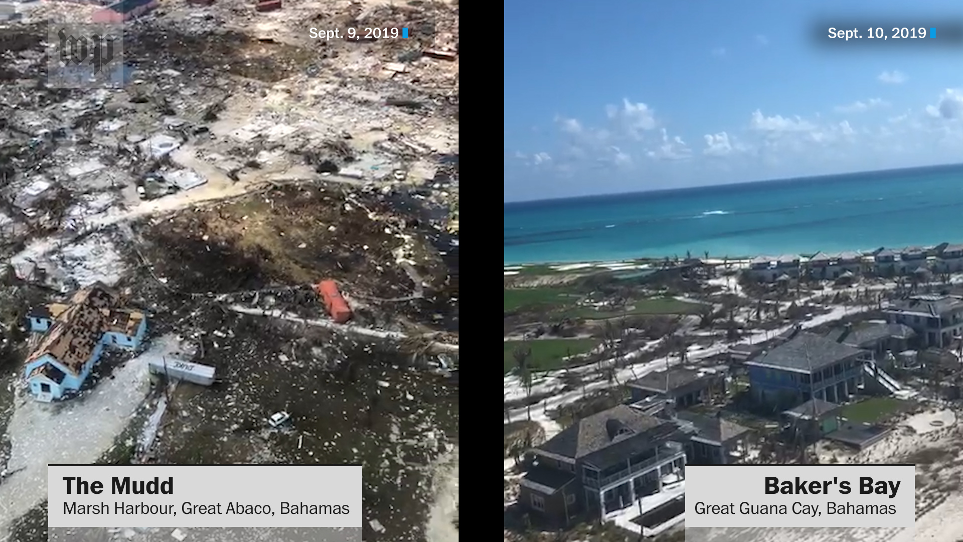 When Hurricane Dorian blew through the Bahamas, it exposed one of the world's great faultlines of inequality