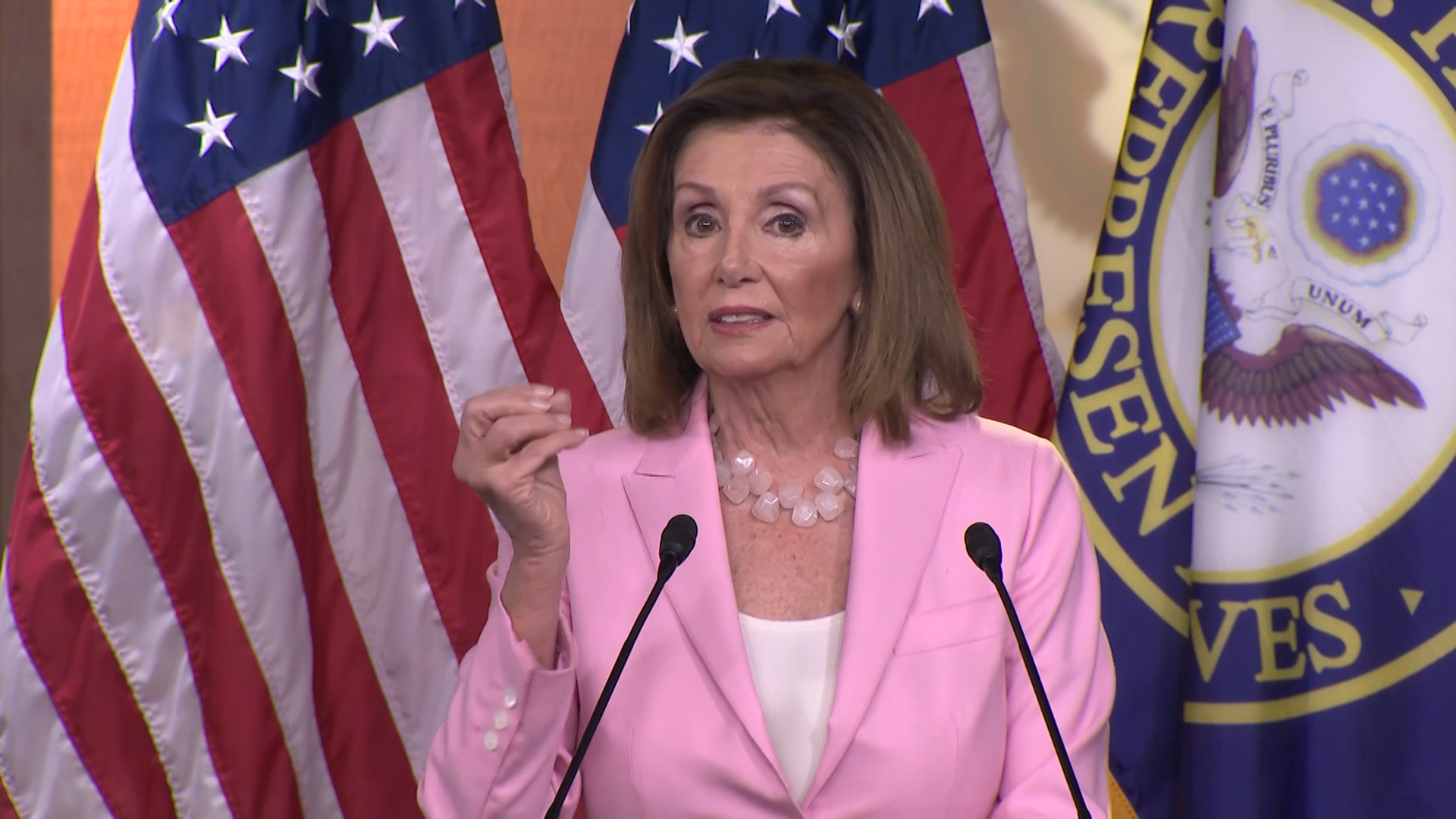 Why Nancy Pelosi says it doesn't matter whether Trump can be trusted