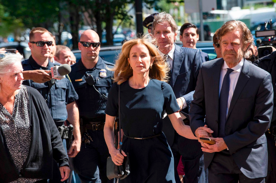 Felicity Huffman gets 14-day jail sentence in college admission scandal