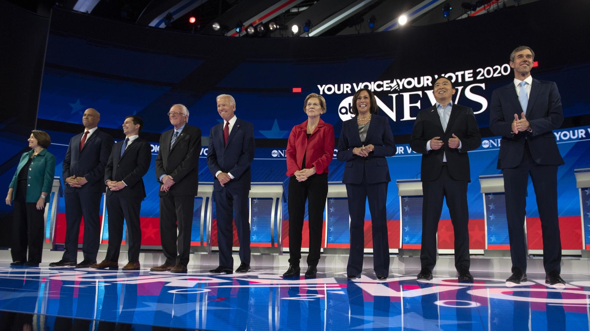 Ranking the Houston Democratic debaters: From Warren to Beto