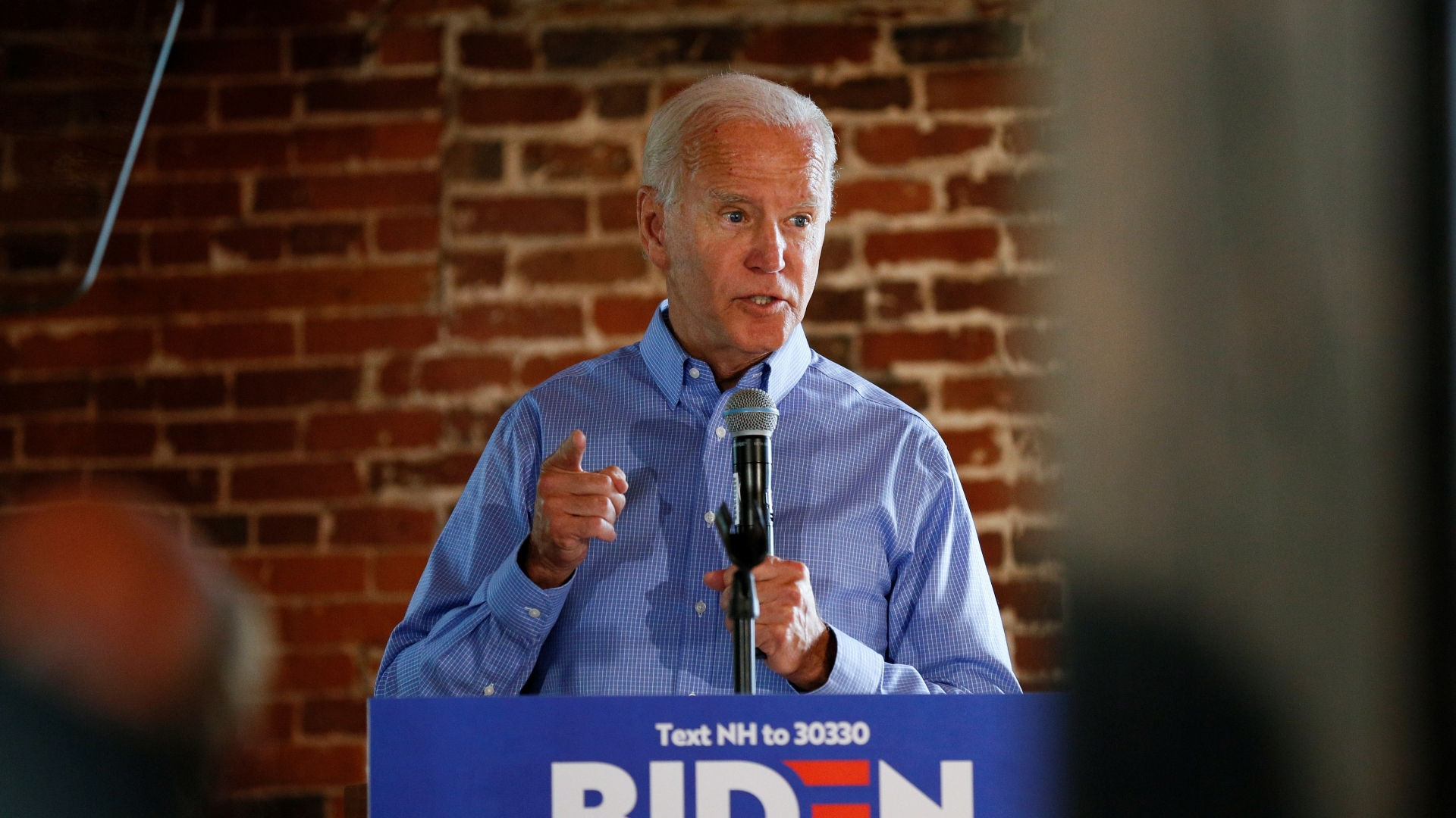 Joe Biden's two-word retort to an array of challenges: Barack Obama