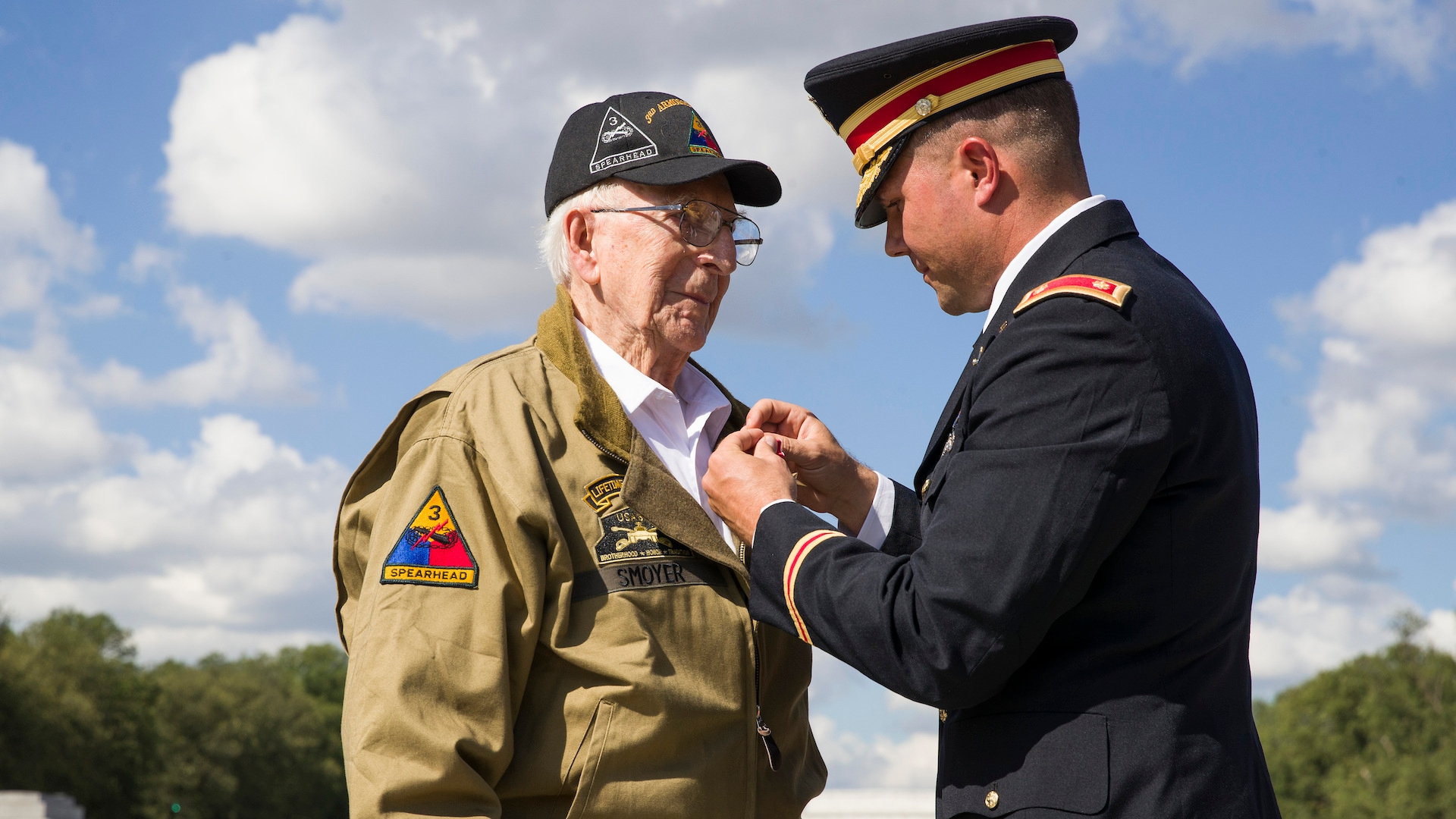 U.S. tank crew receives medals for valor 74 years after gripping duel