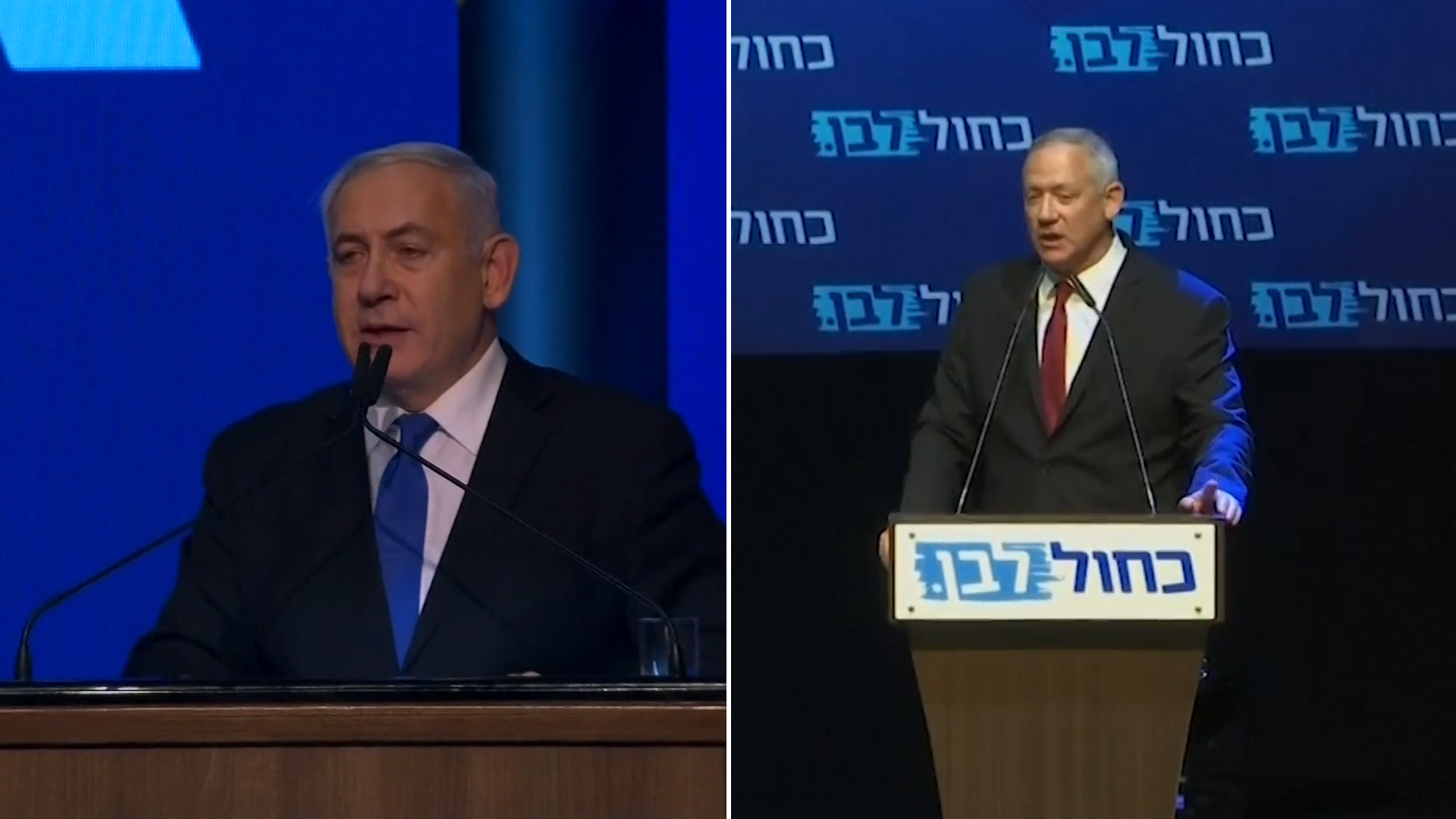 Israel's two main parties locked in dead heat as negotiations begin over new government