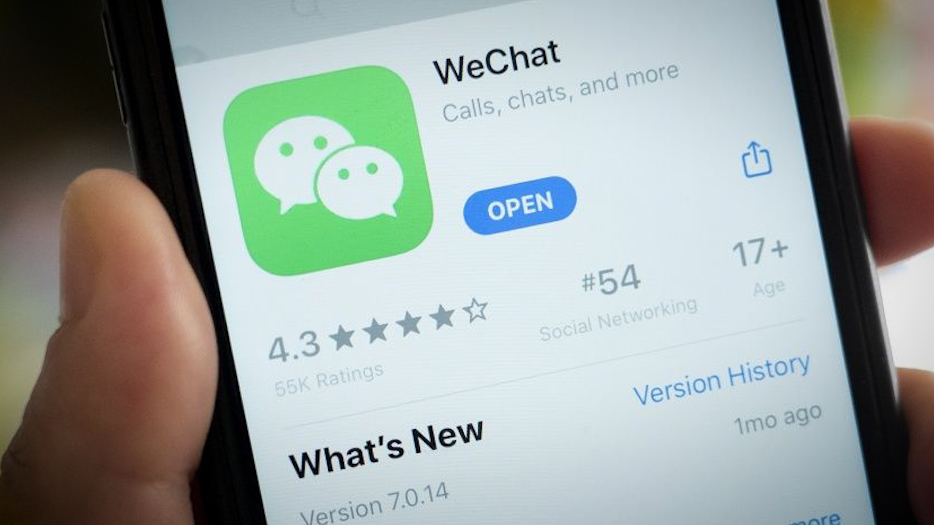 Federal court issues preliminary injunction halting administration's ban of Chinese app WeChat