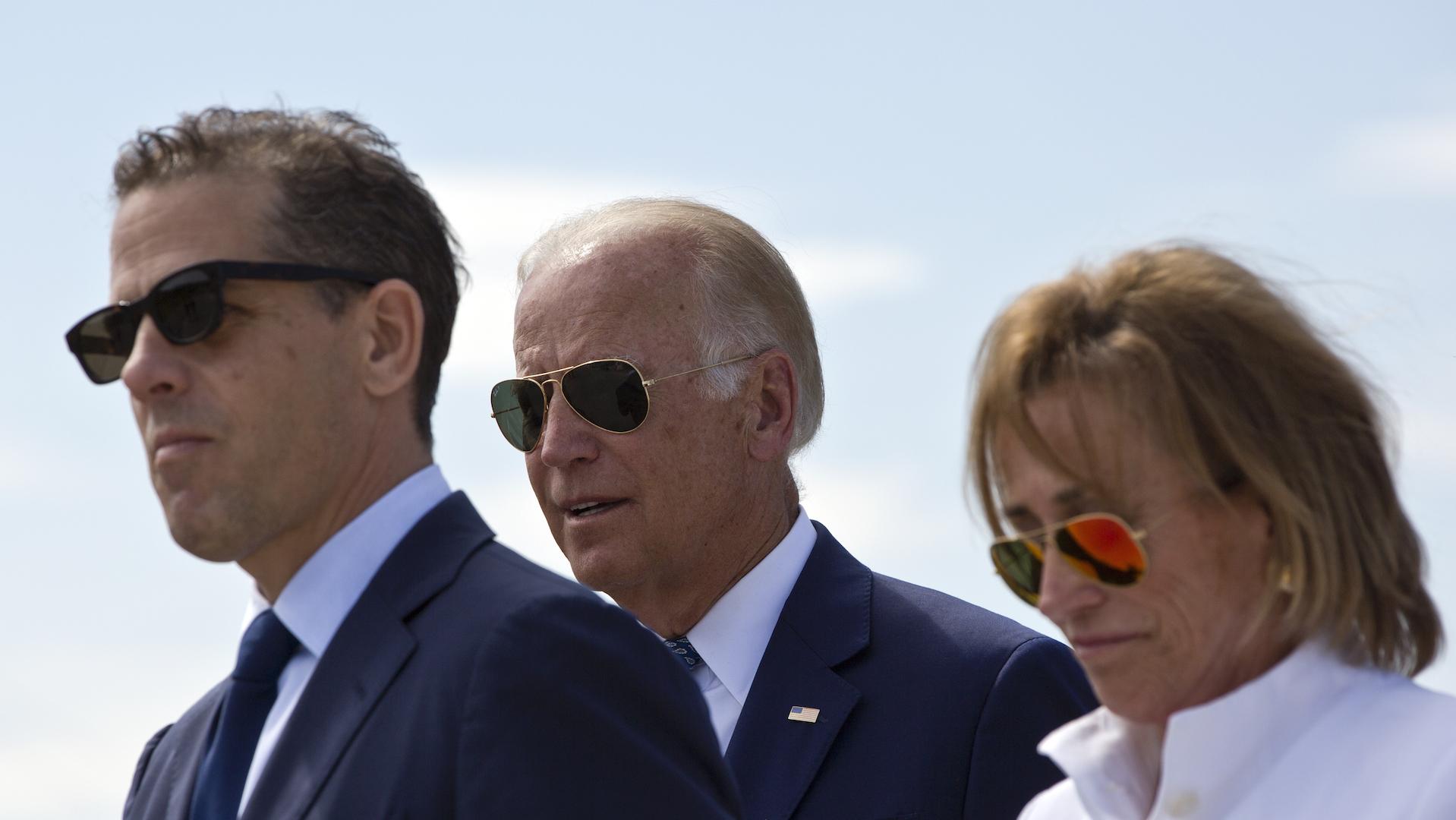Scrutiny over Trump's Ukraine scandal may also complicate Biden's campaign