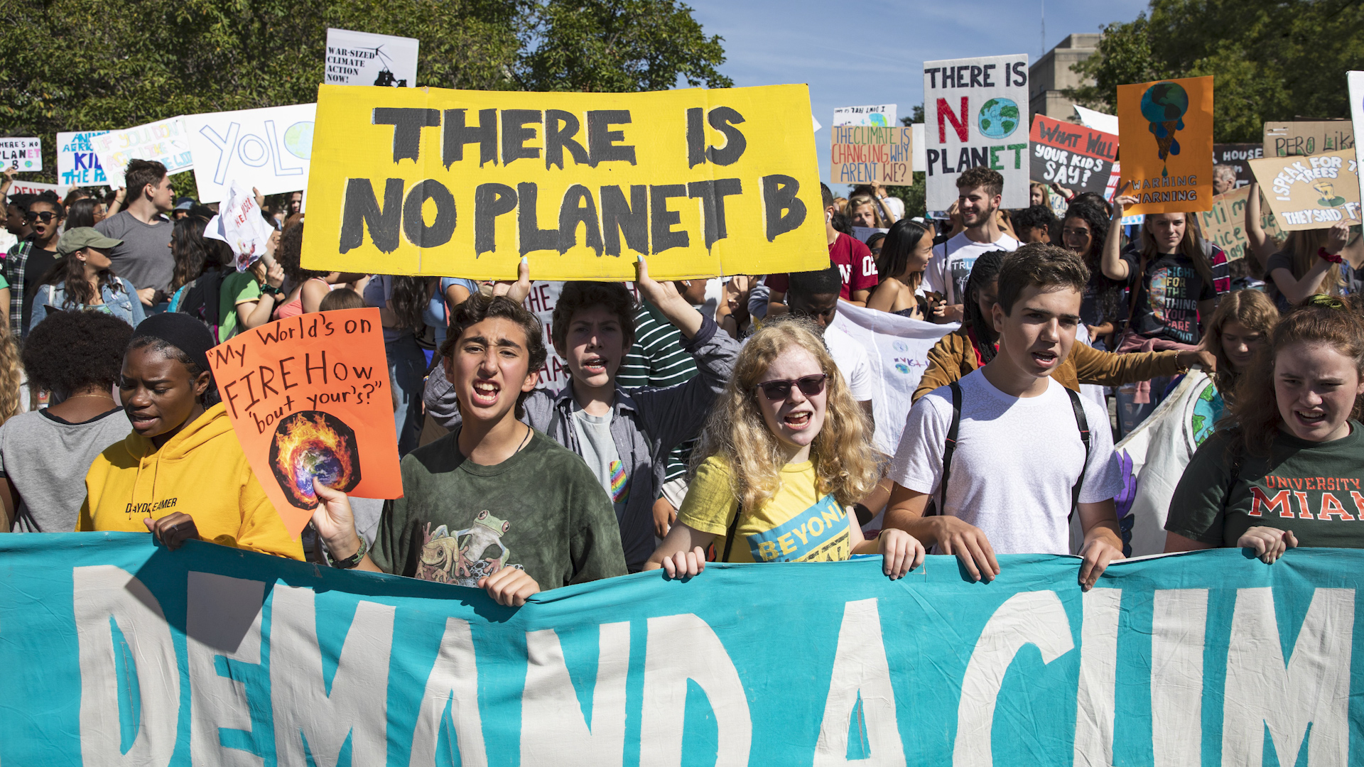 Climate change strike: Walkout, protests for climate change on September 20 - The Washington Post