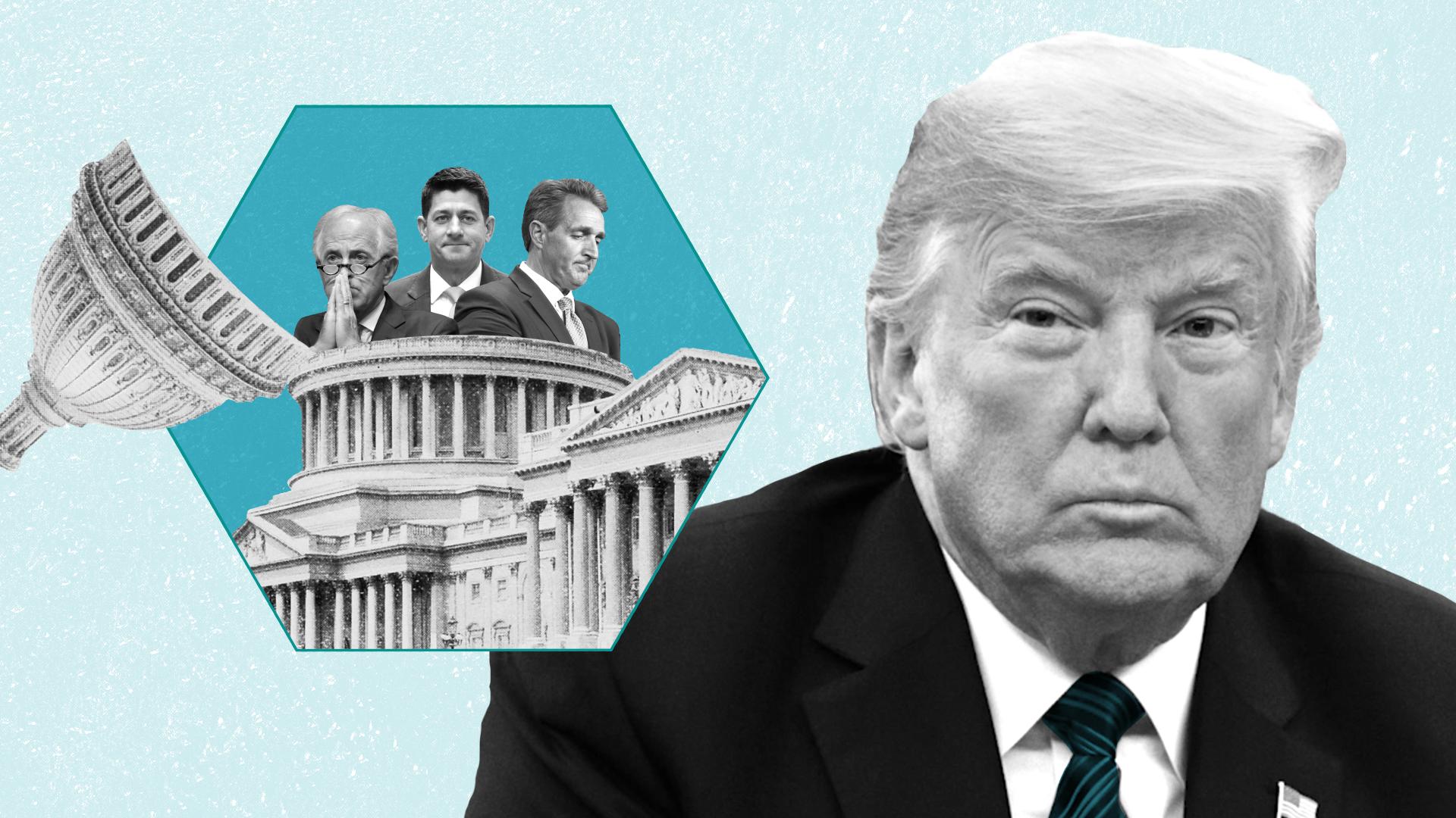 The shabbiest U.S. president ever is an inexpressibly sad specimen