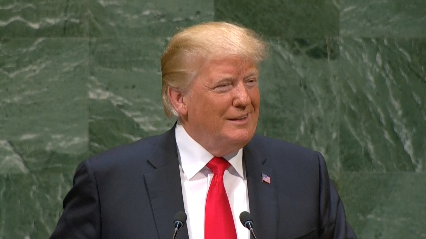 Trump rejects globalism, emphasizes 'America First' foreign policy approach in speech to U.N.