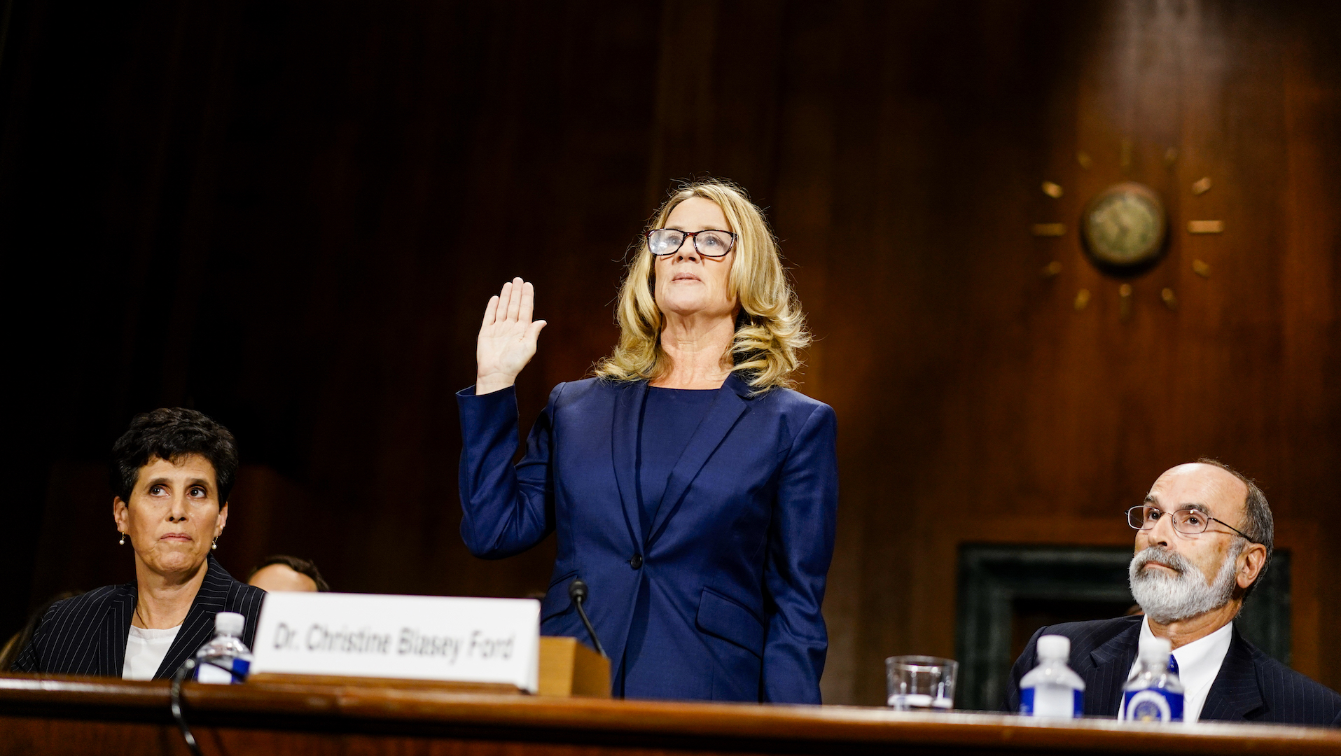 The power of Christine Blasey Ford's voice