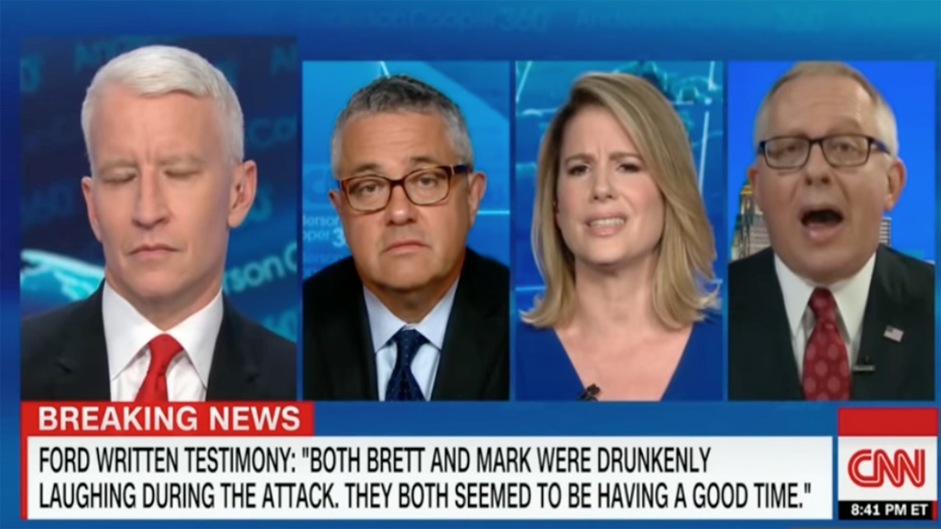 You Dont Call Me Out Like That Michael Caputo Loses Temper On Cnn Panel The Washington Post