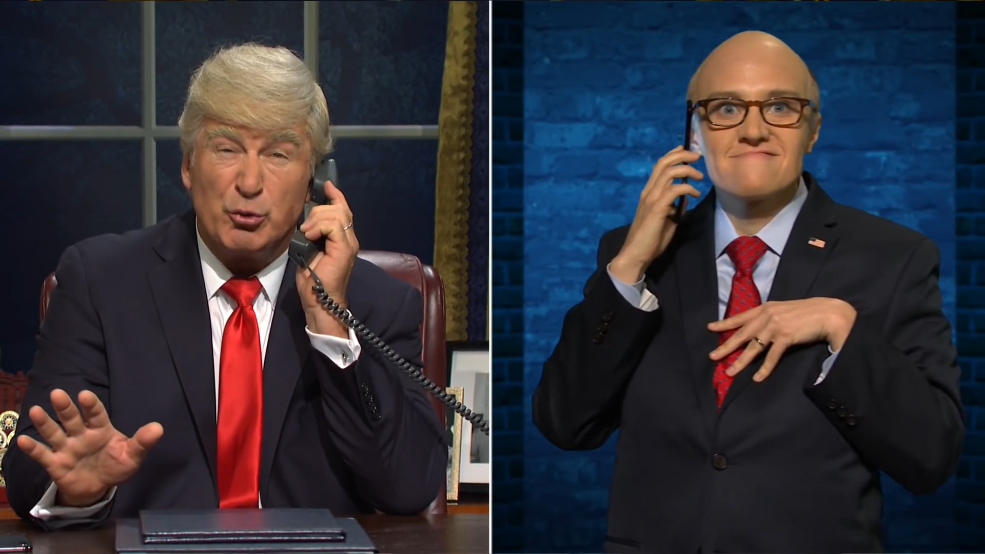 Alec Baldwin returns for SNL's cold open, which tackles impeachment (and  features a surprise guest) - The Washington Post